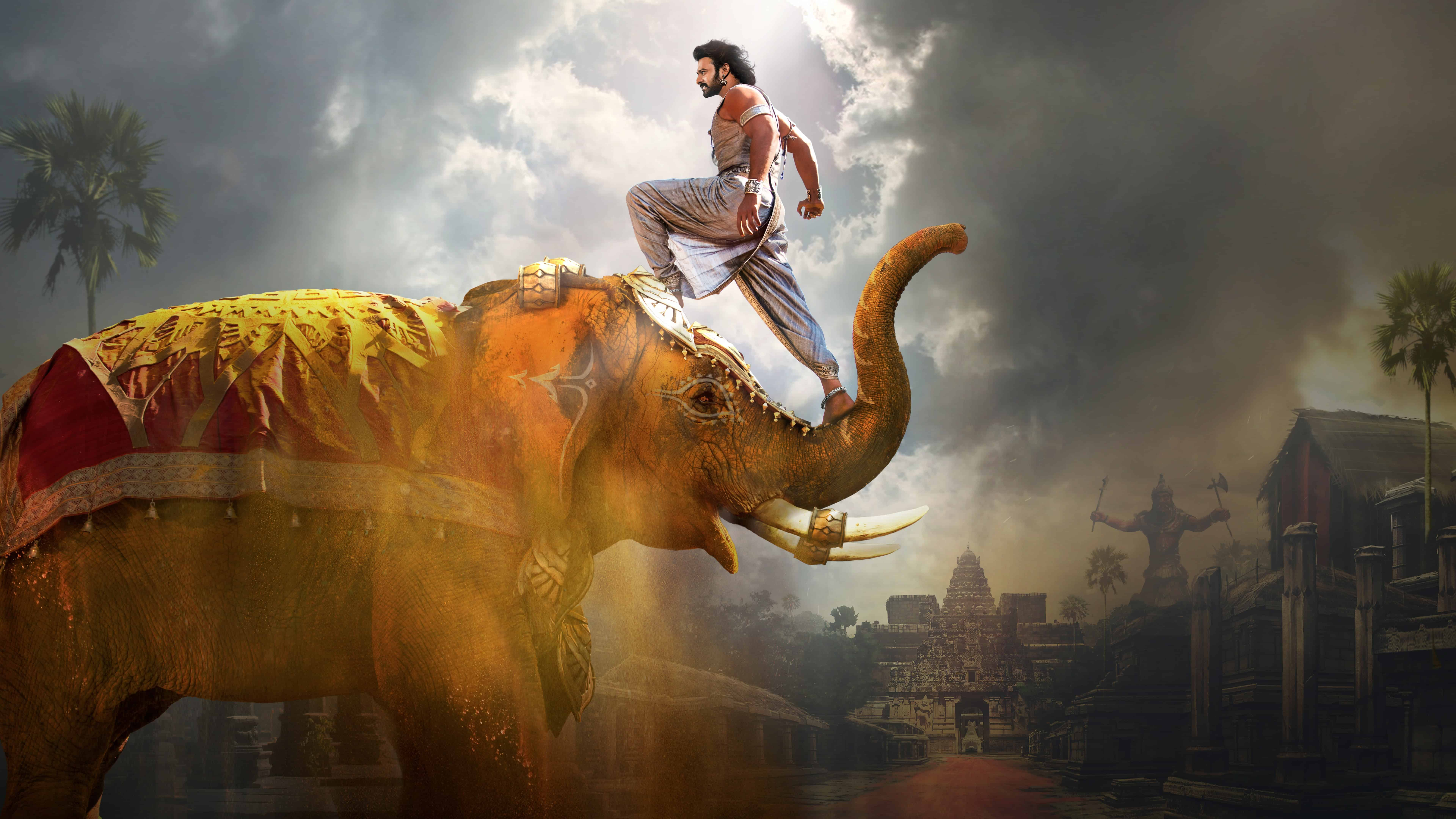 baahubali 2 the conclusion uhd 8k wallpaper