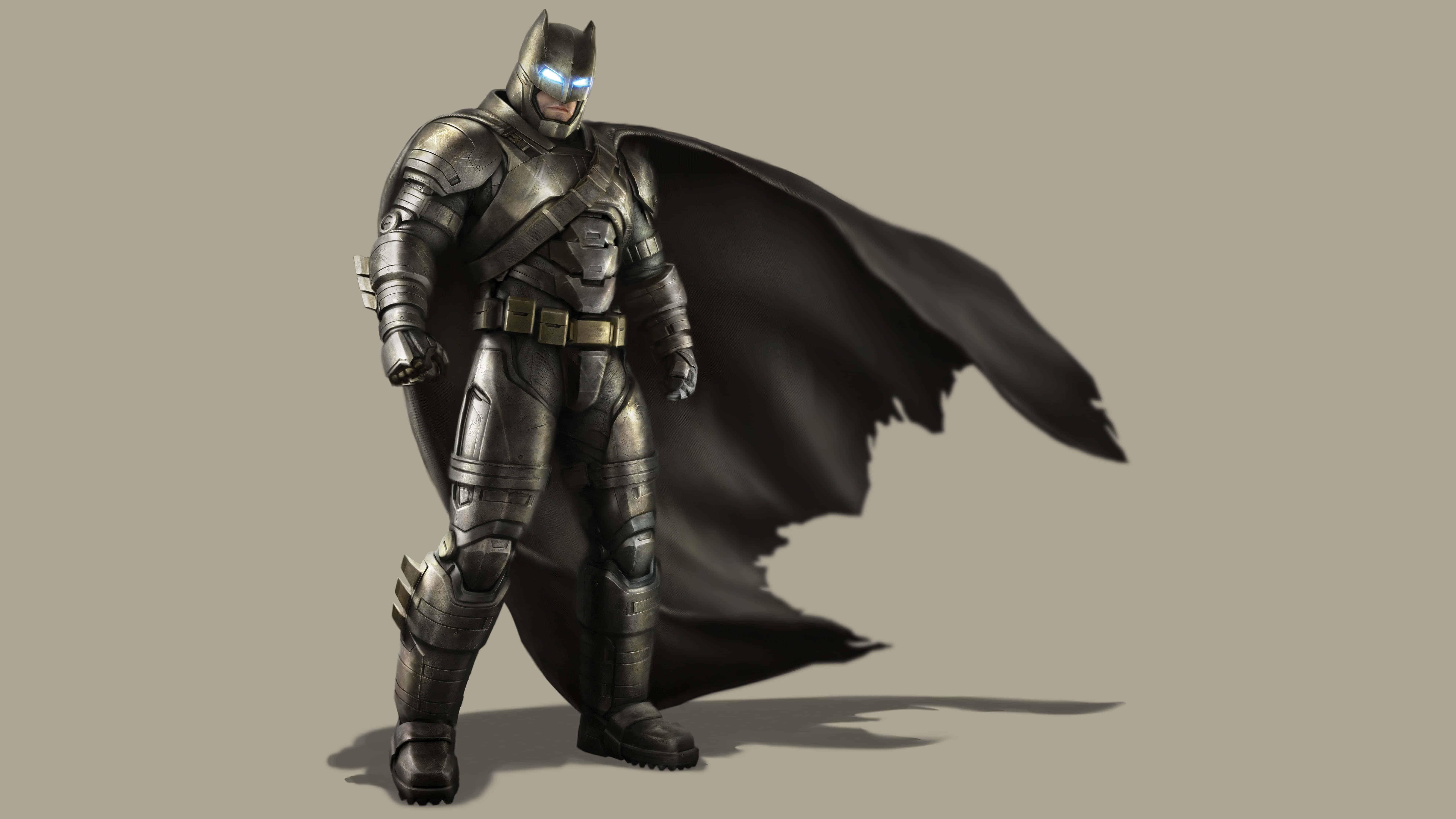 Batman Metal Mech Batsuit Uhd 8k Wallpaper