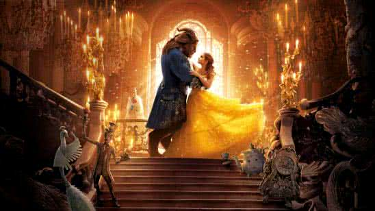 beauty and the beast dancing uhd 8k wallpaper