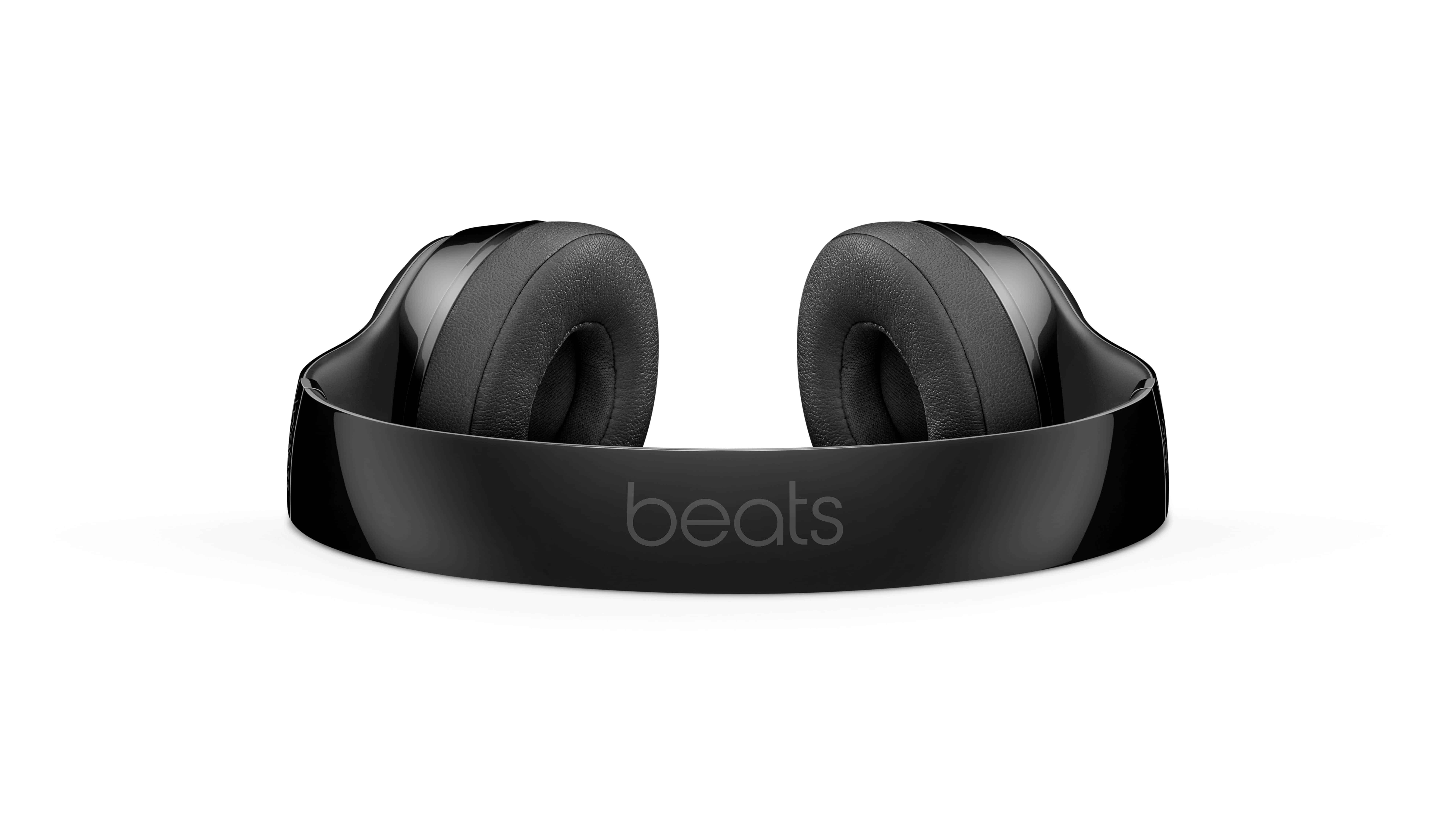 black beats headphones uhd 8k wallpaper