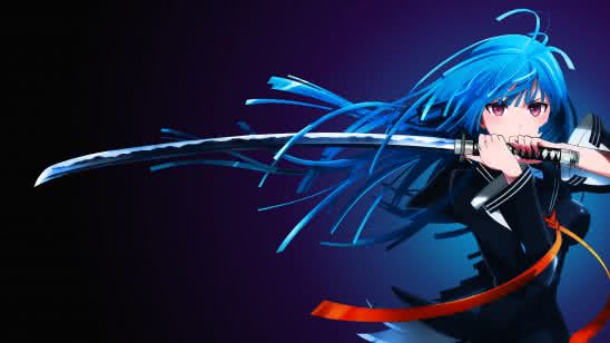 black bullet uhd 4k wallpaper