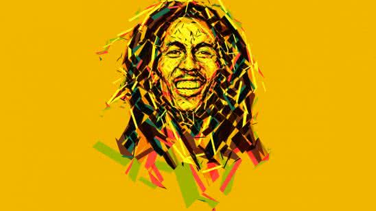bob marley abstract artwork uhd 8k wallpaper