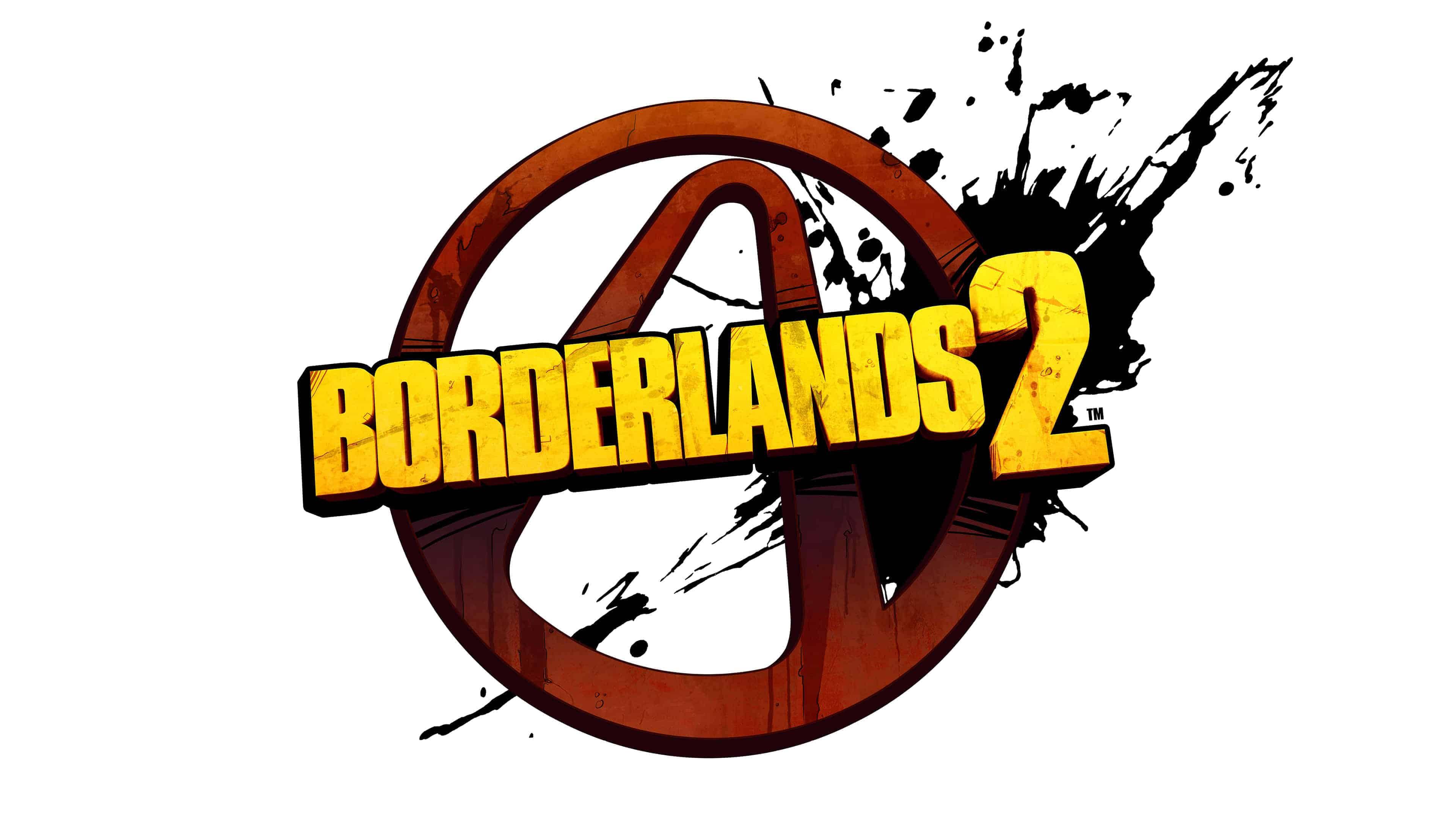 borderlands 2 logo uhd 4k wallpaper