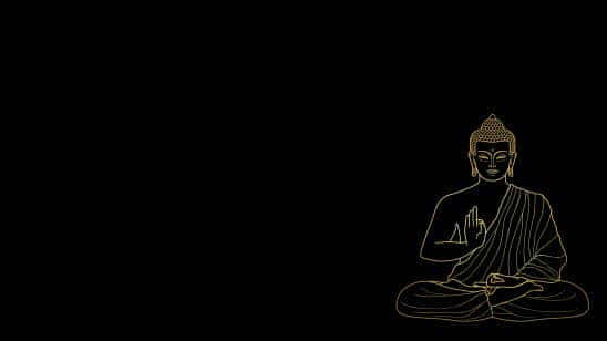 buddha meditating uhd 8k wallpaper