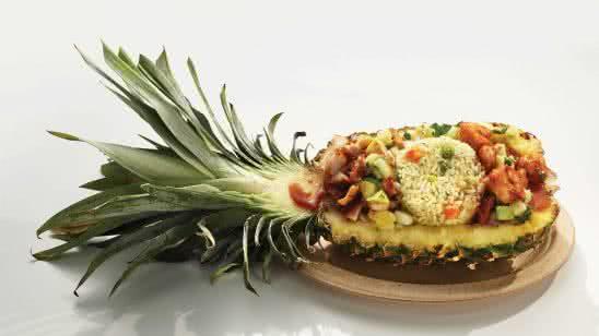 caribbean pineapple korn a copia uhd 8k wallpaper