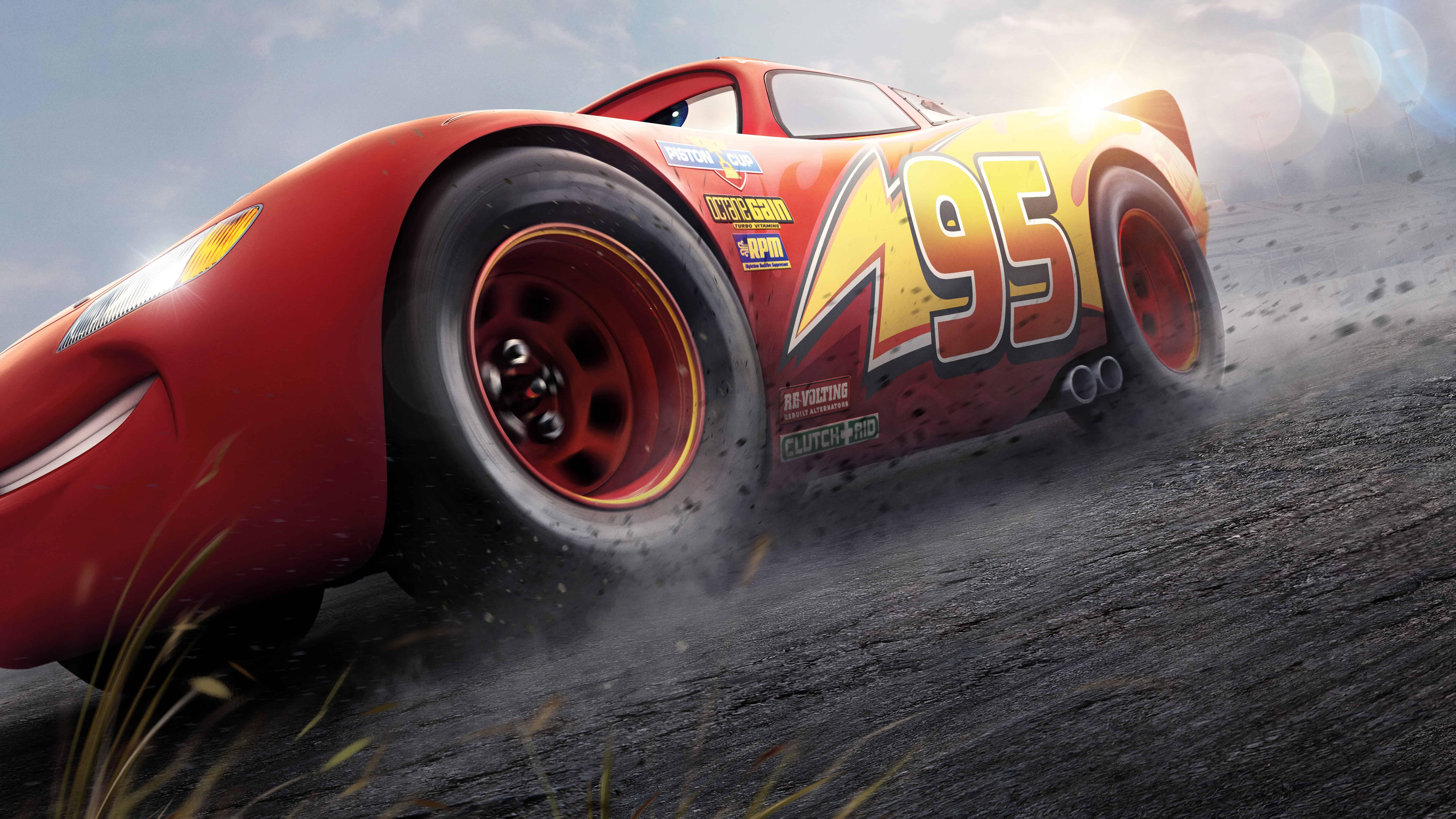 cars 3 lightning mcqueen uhd 8k wallpaper