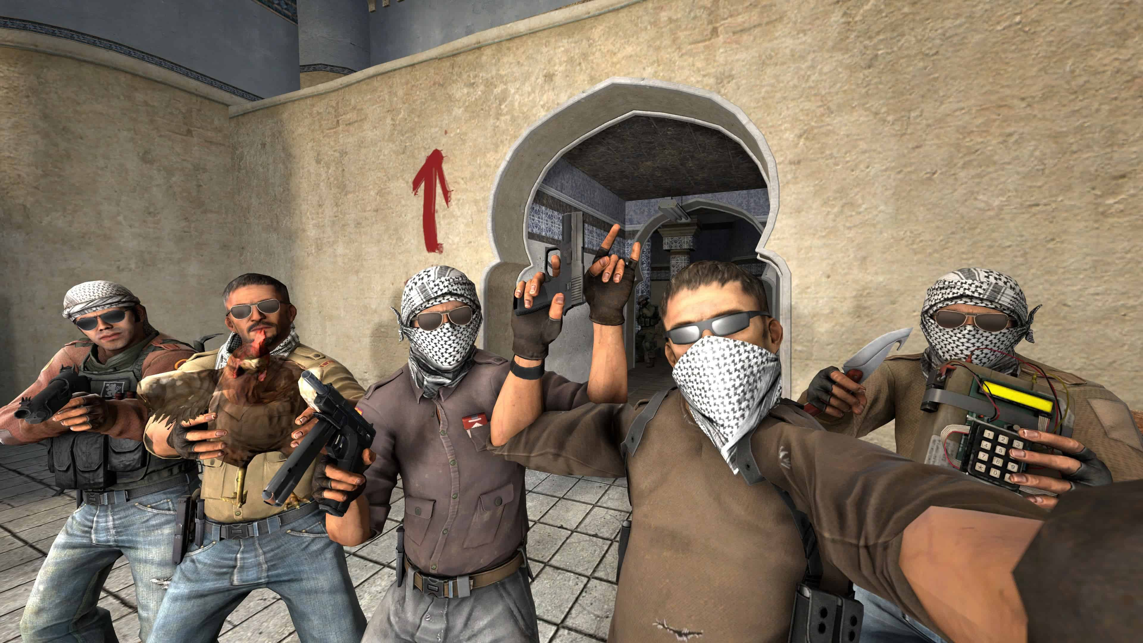 Csgo Counter Strike Global Offensive Selfie Uhd 4k