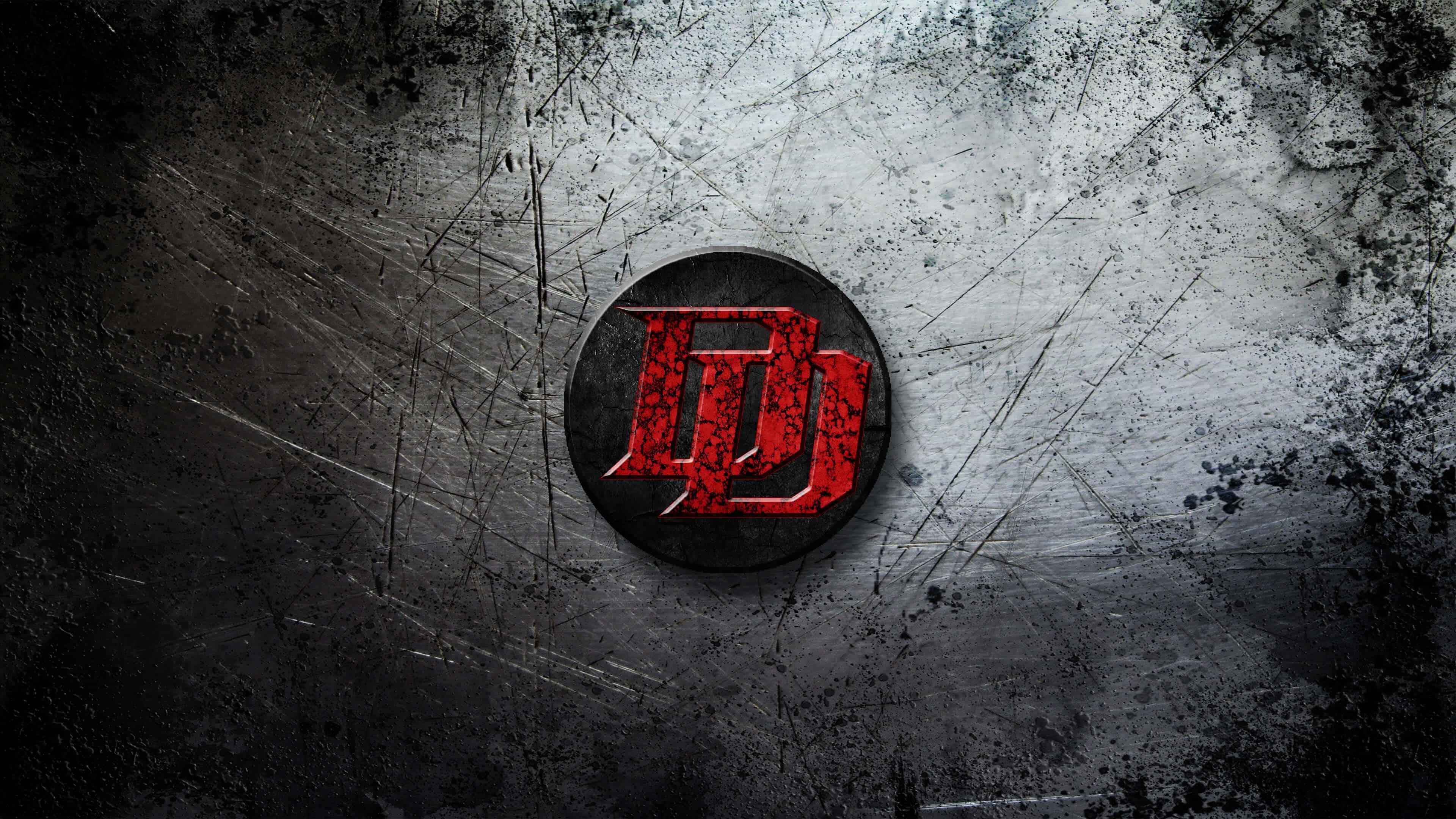 daredevil logo uhd 4k wallpaper