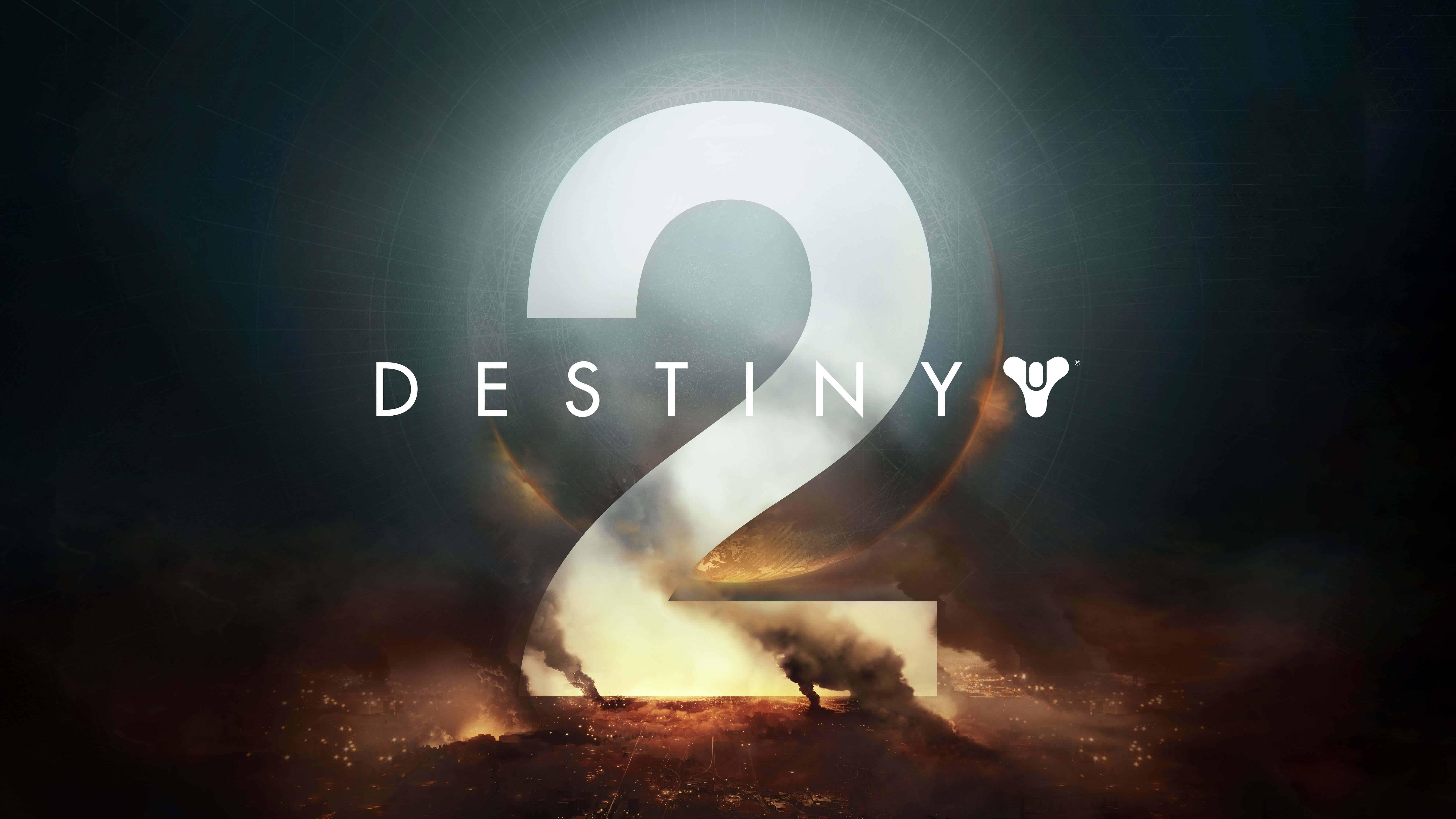 destiny 2 logo uhd 8k wallpaper