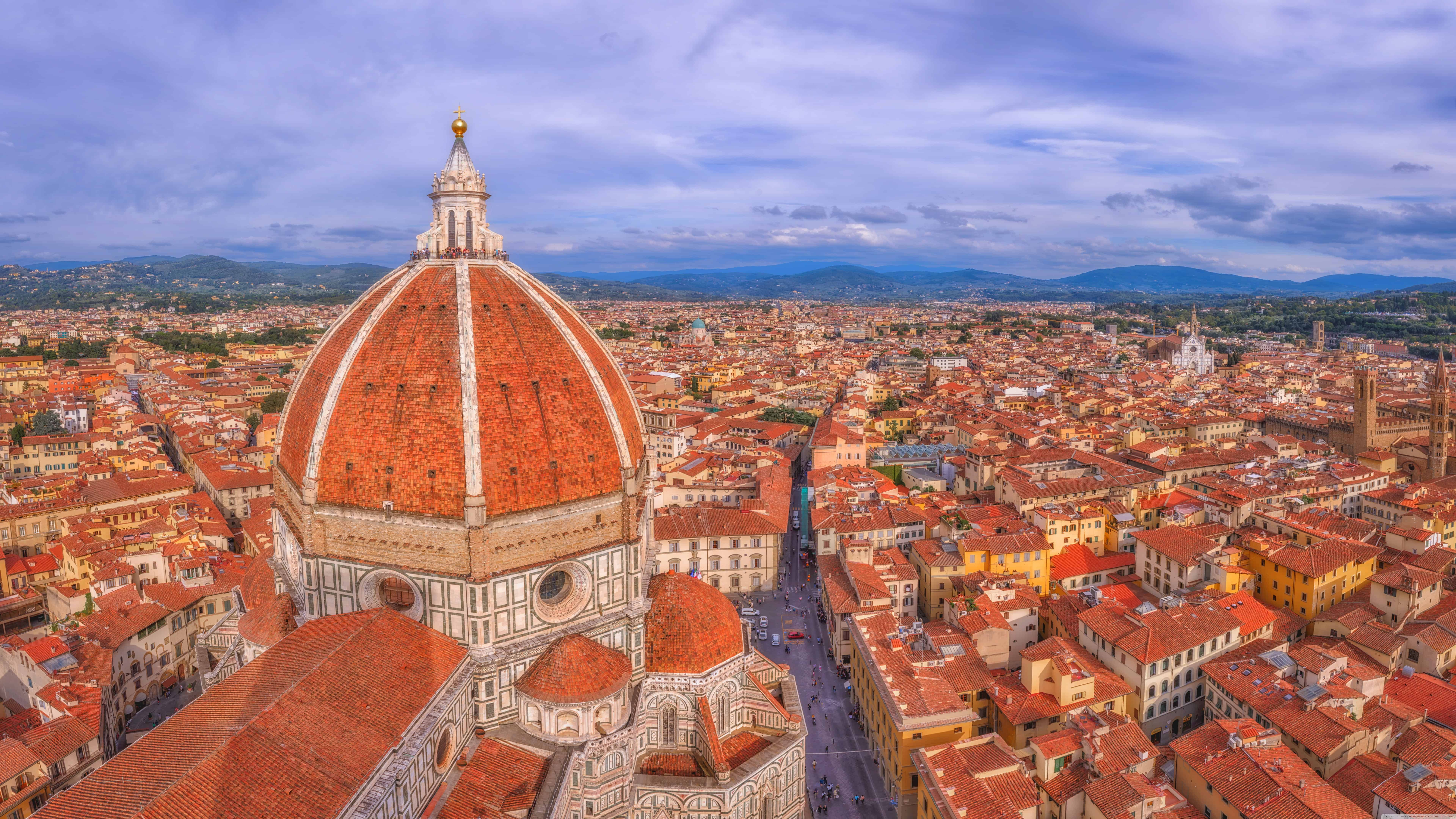 florence cathedral italy uhd 8k wallpaper