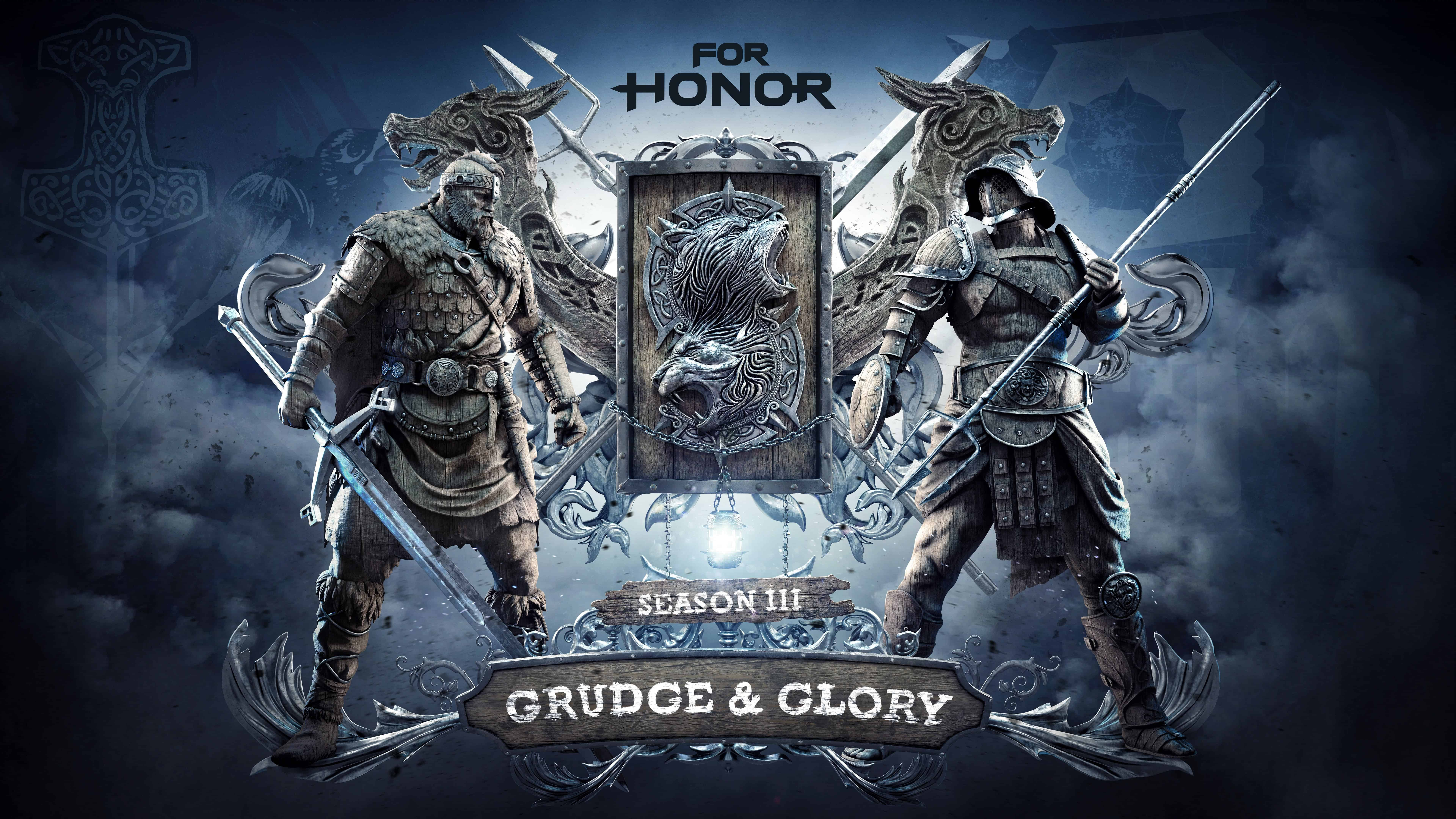 for honor season three grudge and glory uhd 8k wallpaper