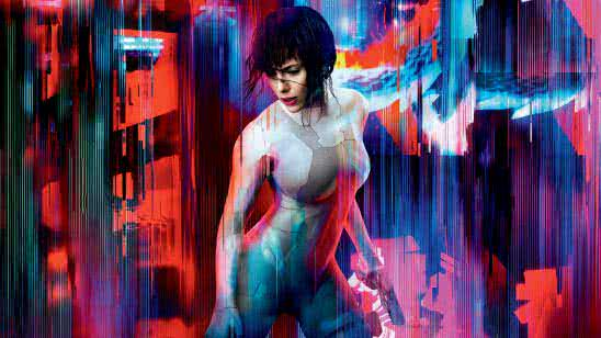 ghost in the shell uhd 8k wallpaper