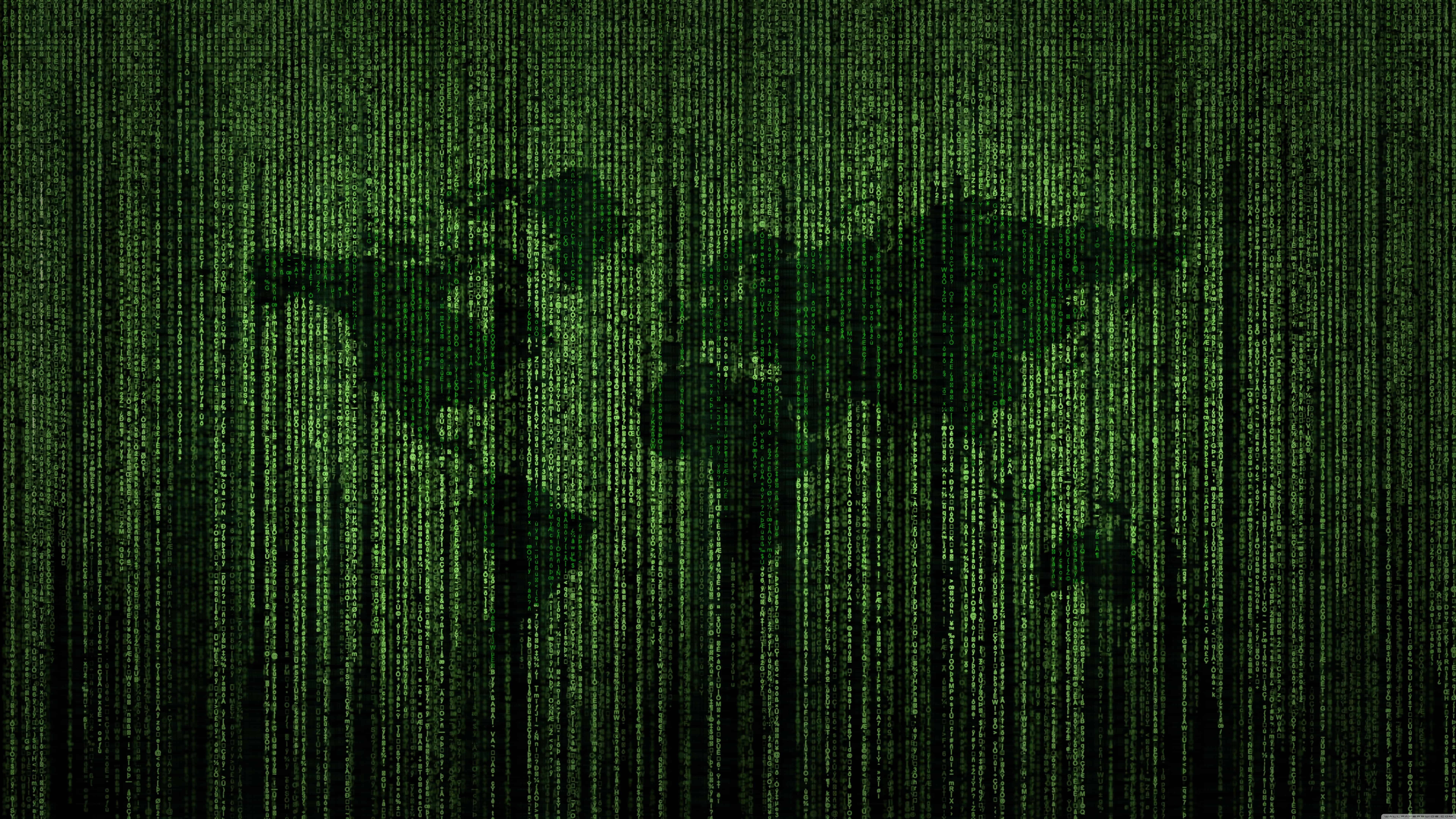 green matrix code world map uhd 8k wallpaper
