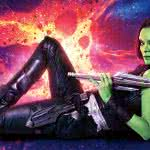 guardians of the galaxy vol 2 gamora uhd 8k wallpaper
