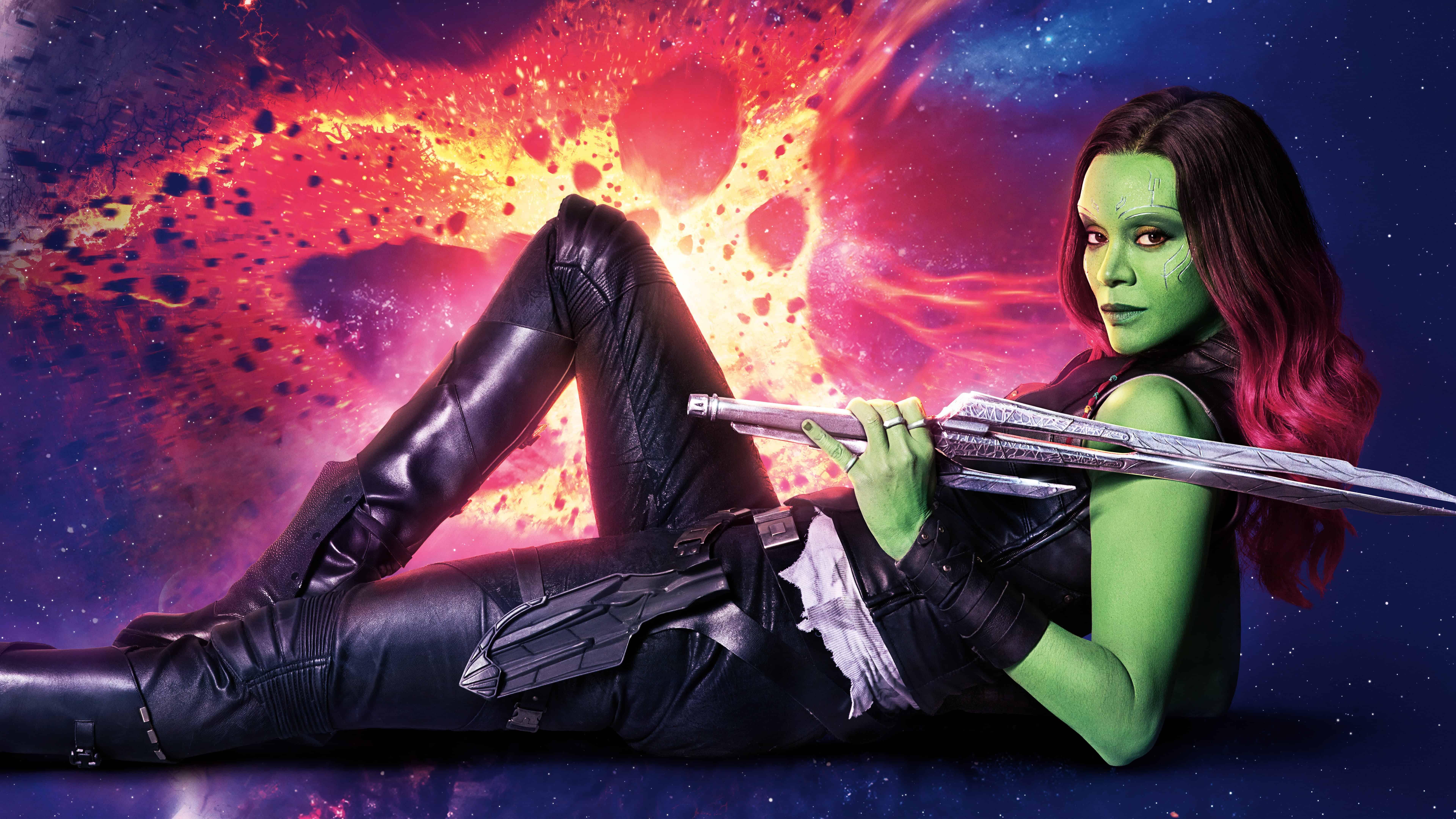 Guardians of the galaxy vol 2 gamora uhd 8k wallpaper pixelz - Guardians of the galaxy 2 8k ...