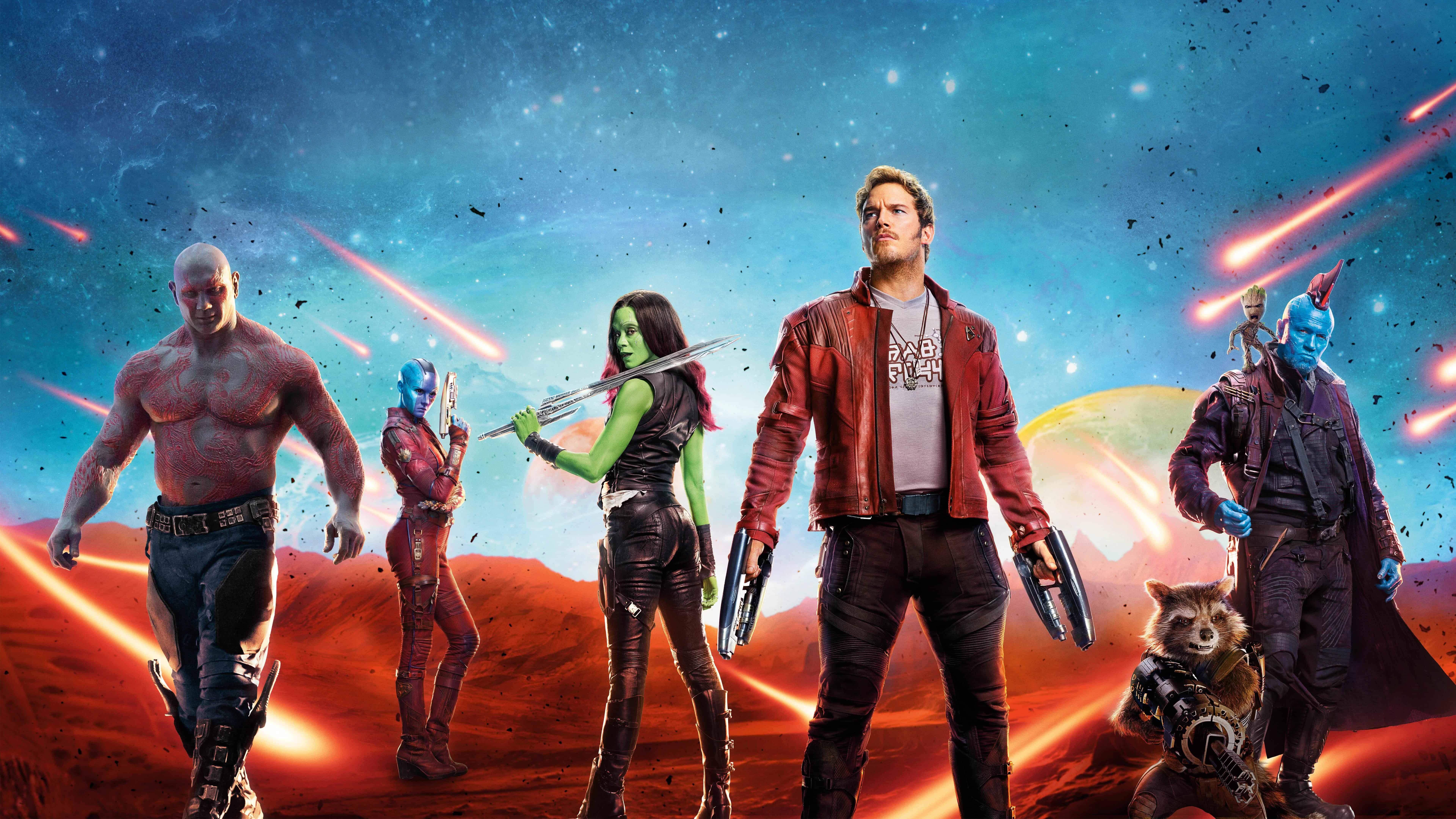 guardians of the galaxy vol 2 uhd 8k wallpaper