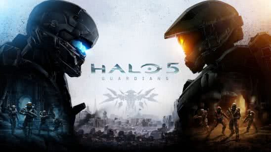 halo 5 guardians cover uhd 8k wallpaper