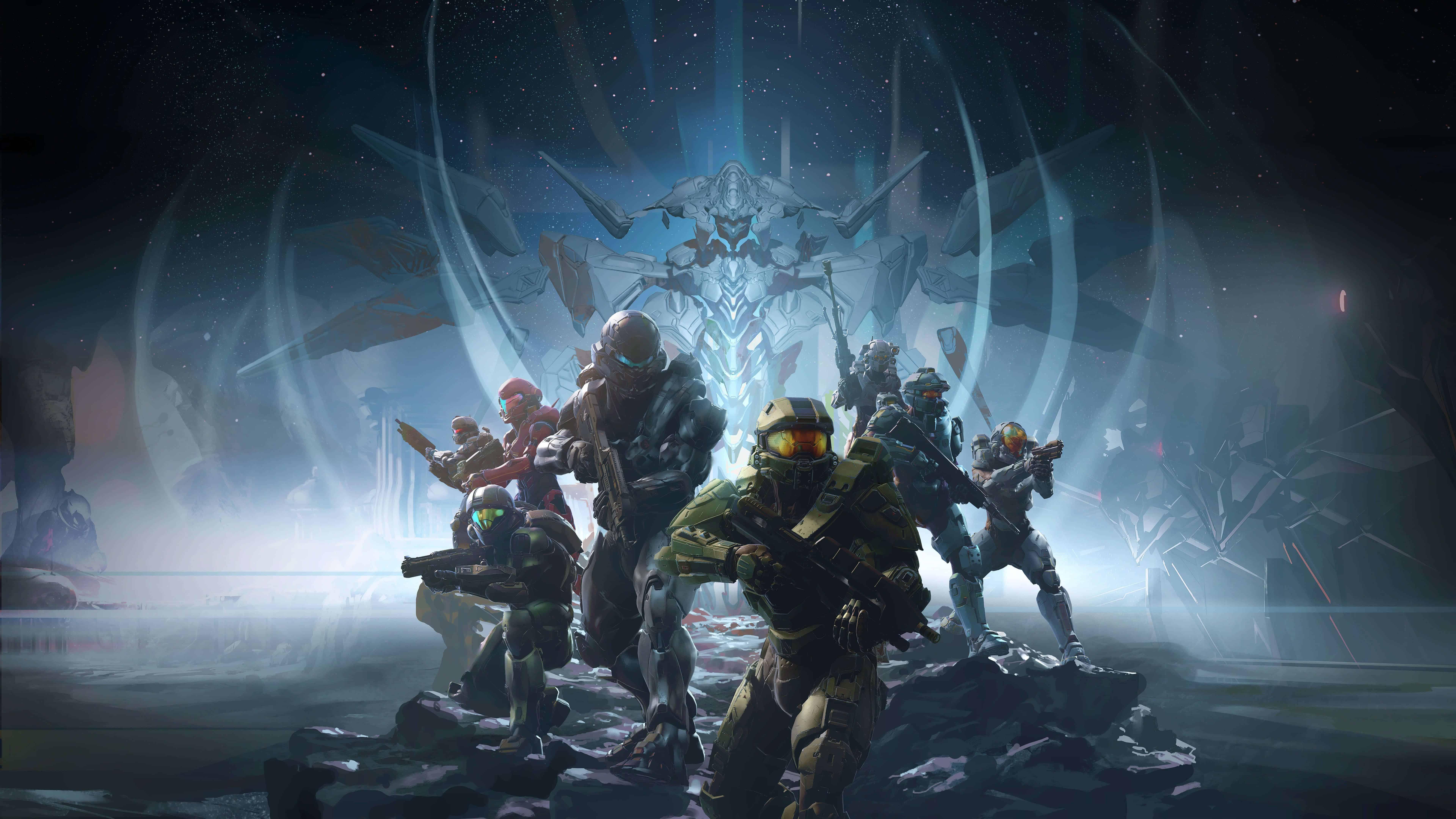 Halo 5 Guardians Wallpaper: Halo 5 Guardians UHD 8K Wallpaper