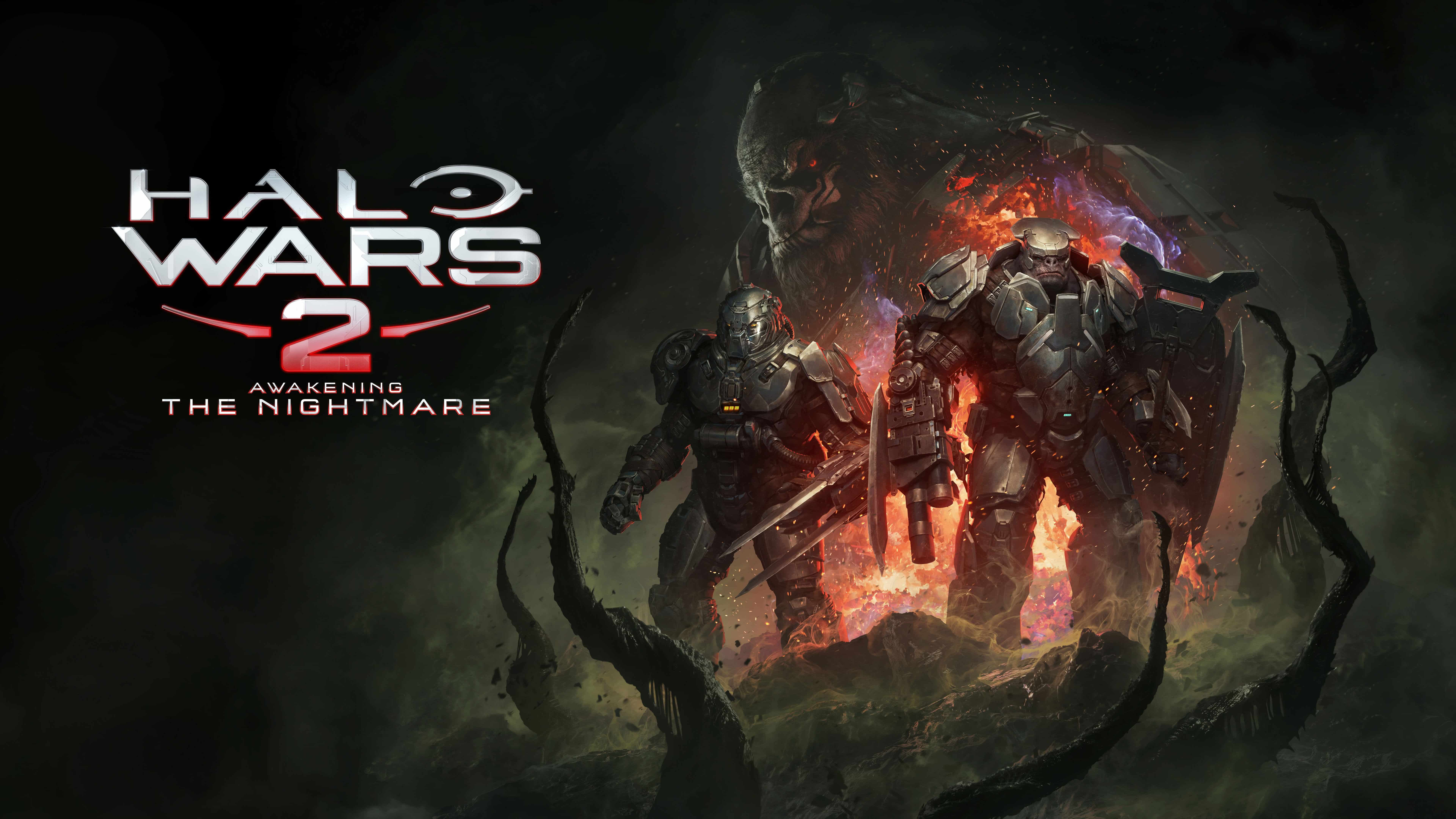halo wars 2 awakening the nightmare uhd 8k wallpaper