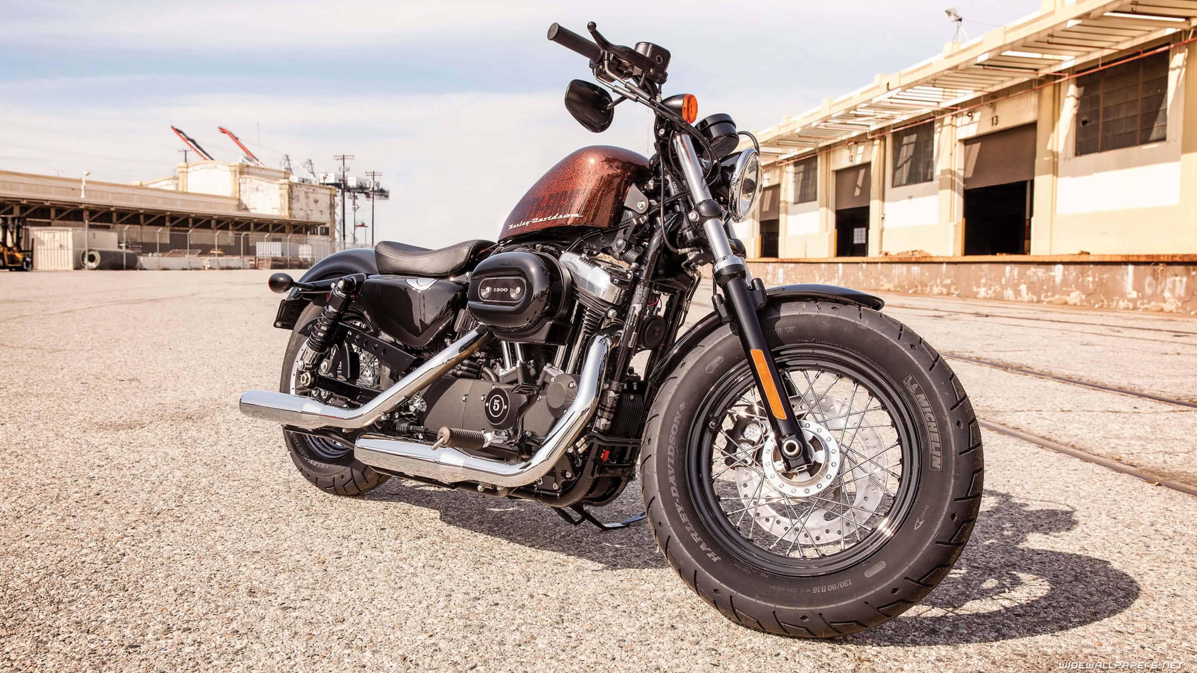 Harley Davidson Sportster UHD 4K Wallpaper