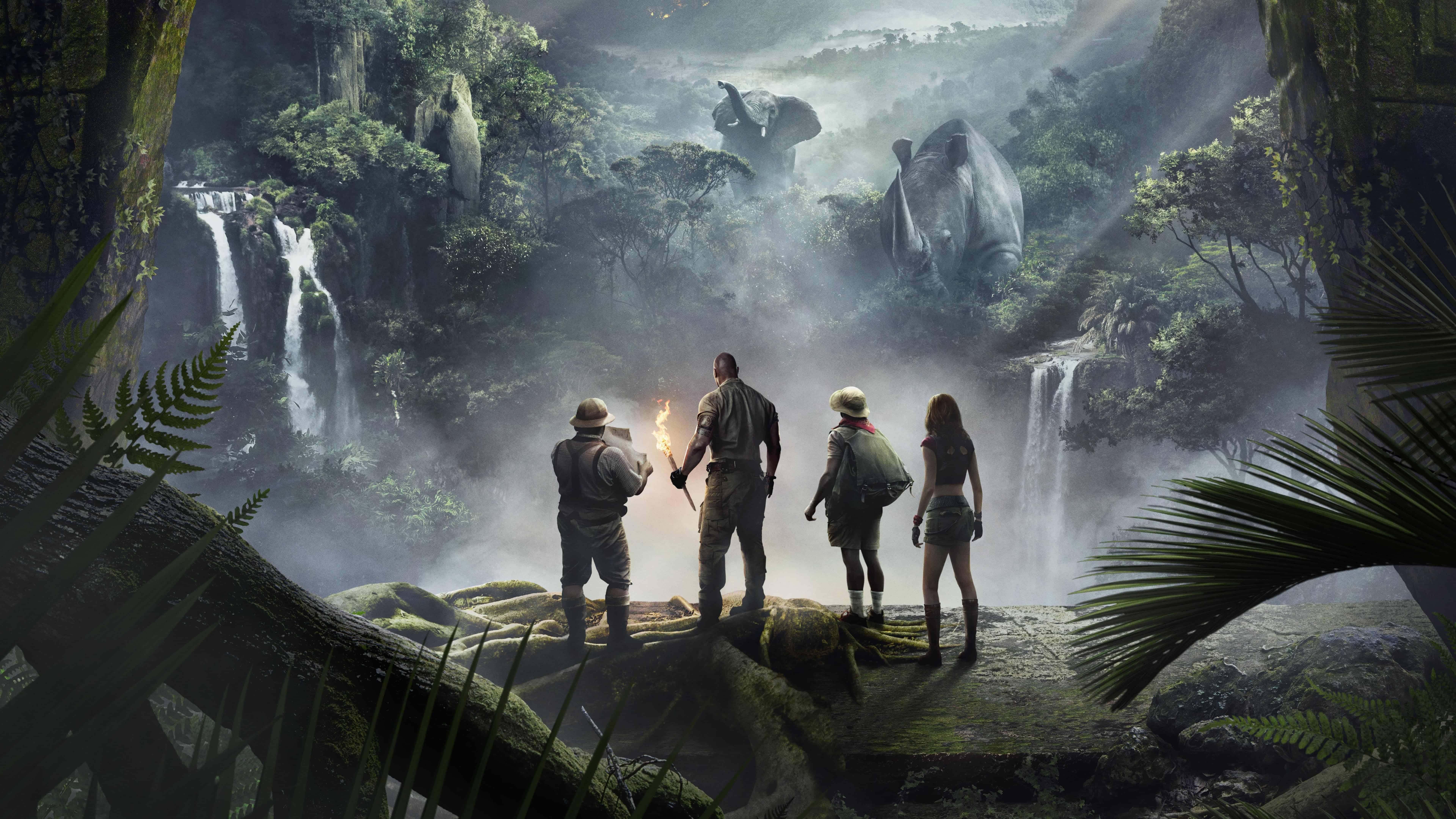 Jumanji Welcome To The Jungle UHD 8K Wallpaper | Pixelz