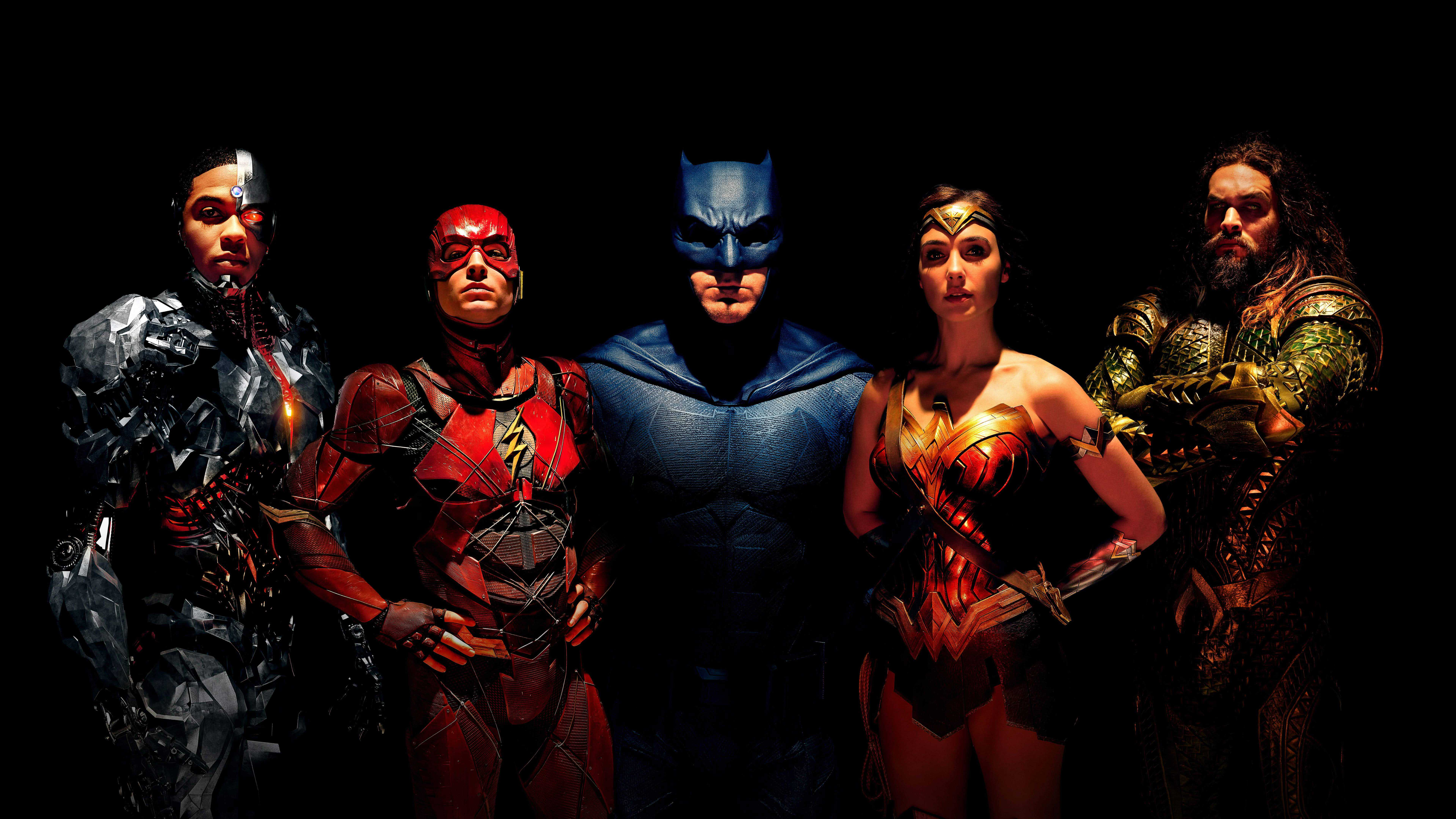 justice league uhd 8k wallpaper