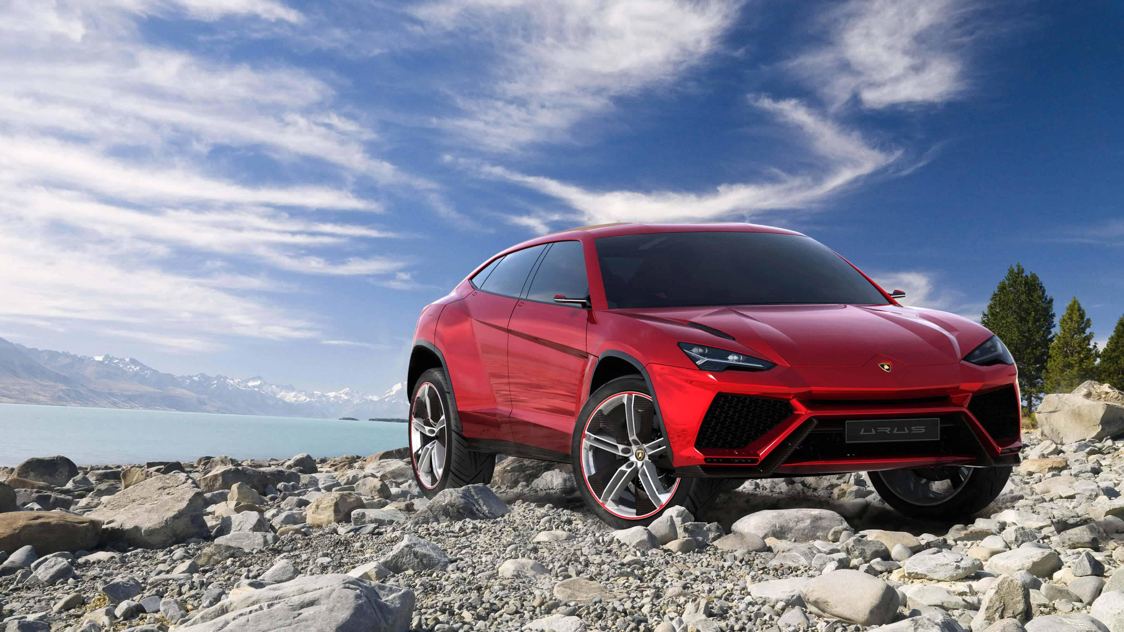 Lamborghini Urus Suv Red Uhd 4k Wallpaper Pixelz