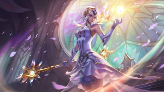 league of legends lux uhd 8k wallpaper