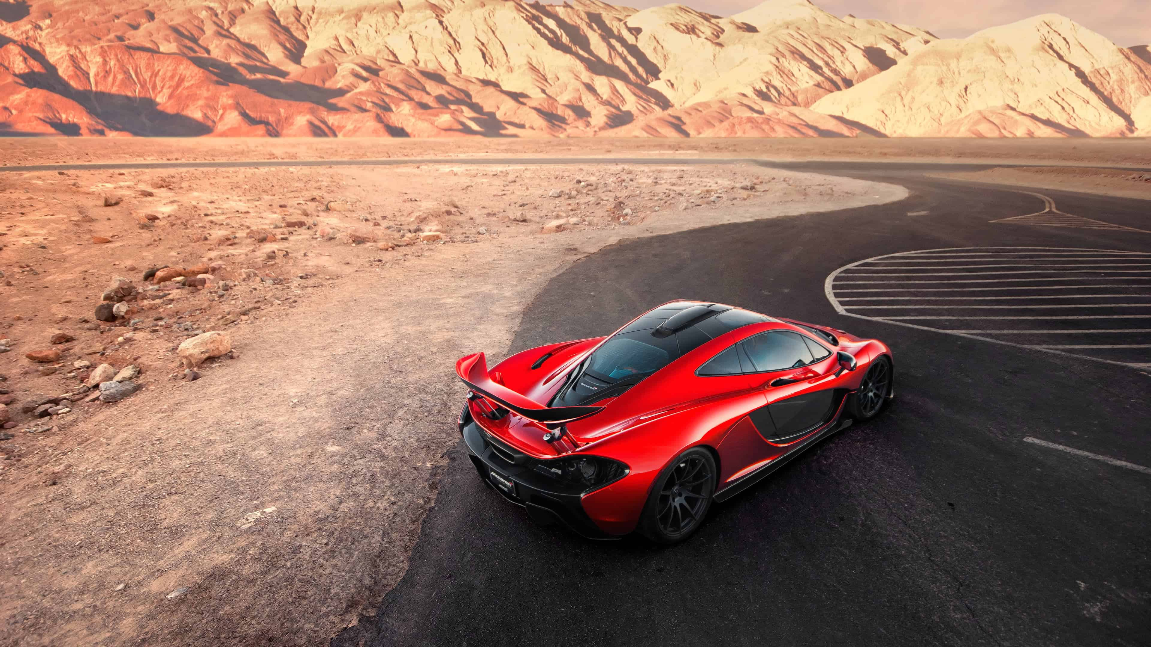 Mclaren P1 Red Uhd 4k Wallpaper Pixelz