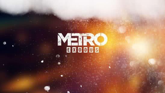 metro exodus logo uhd 8k wallpaper