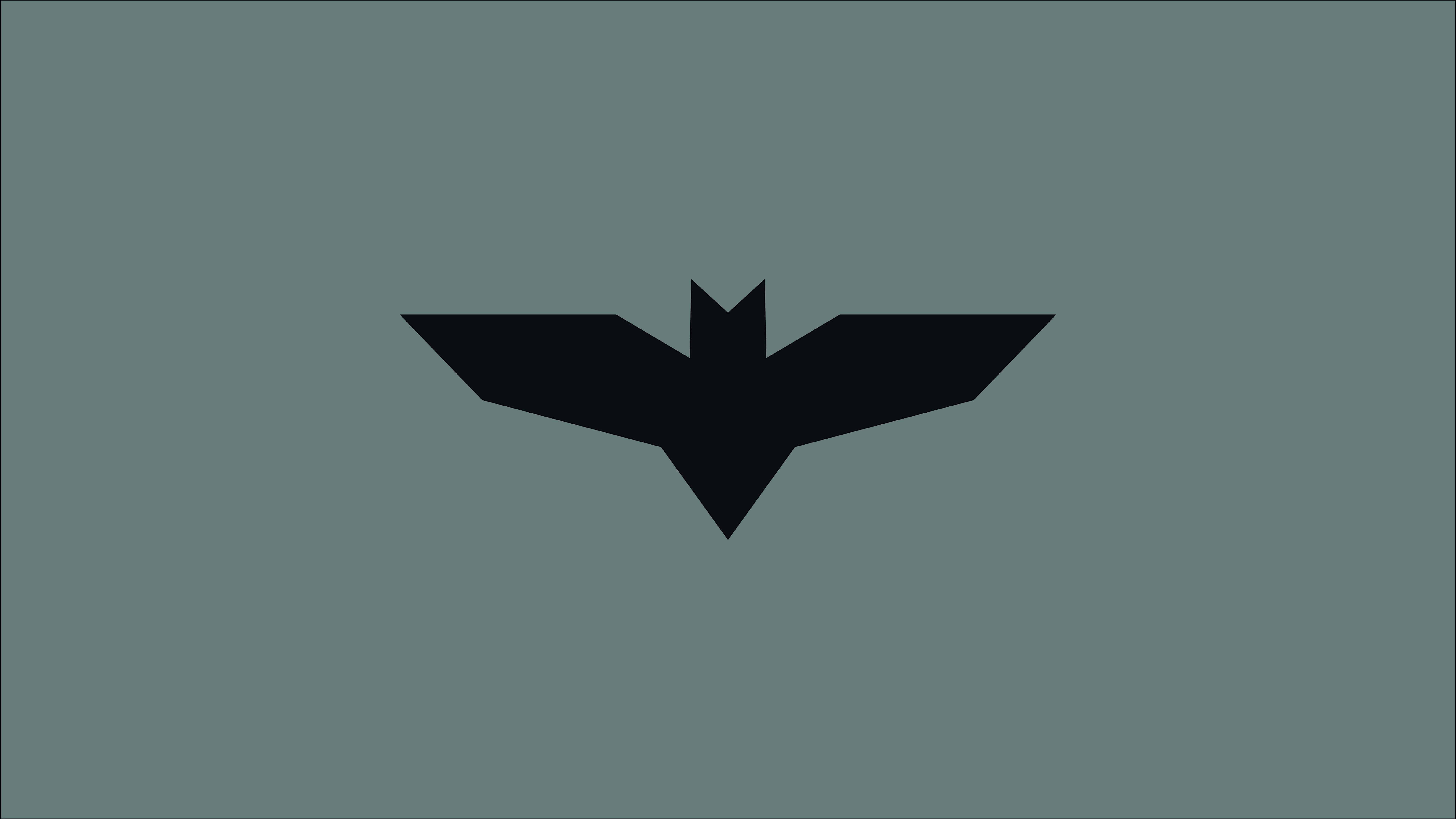 minimalism batman justice league logo uhd 8k wallpaper
