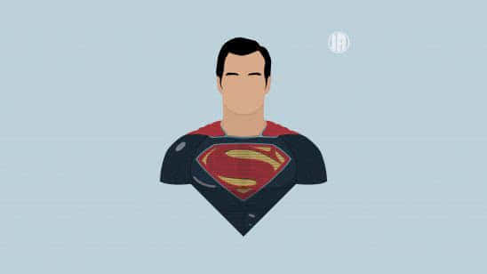 minimalism superman uhd 8k wallpaper