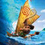 moana and maui sailing uhd 8k wallpaper