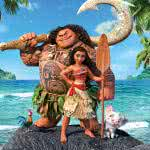moana maui and hei hei uhd 8k wallpaper