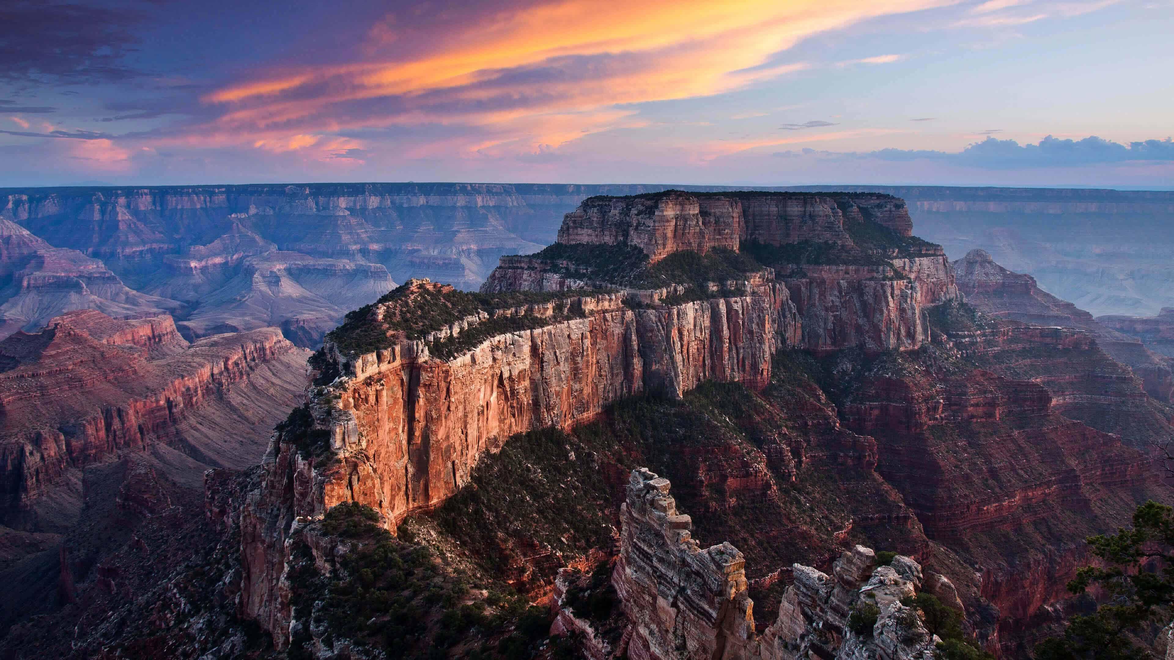 Moran Point Grand Canyon Arizona United States Uhd 4k