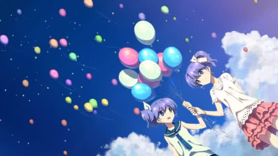 nightcore red balloon uhd 4k wallpaper
