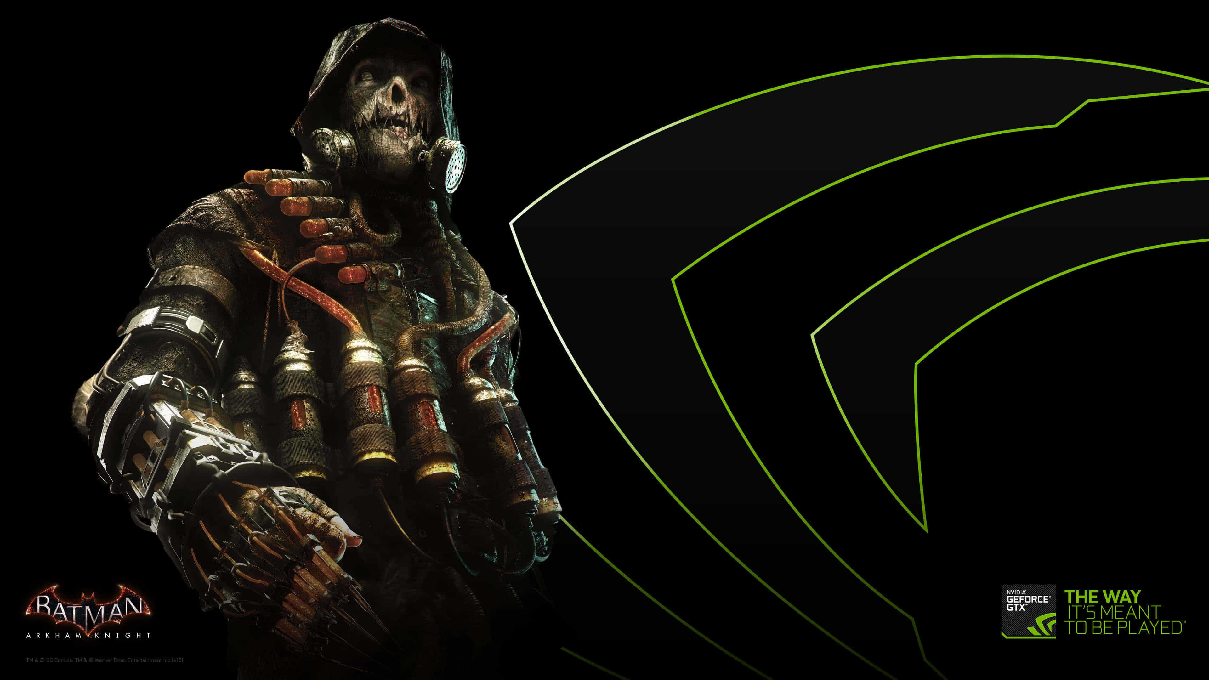 nvidia scarecrow arkham knight uhd 4k wallpaper | pixelz