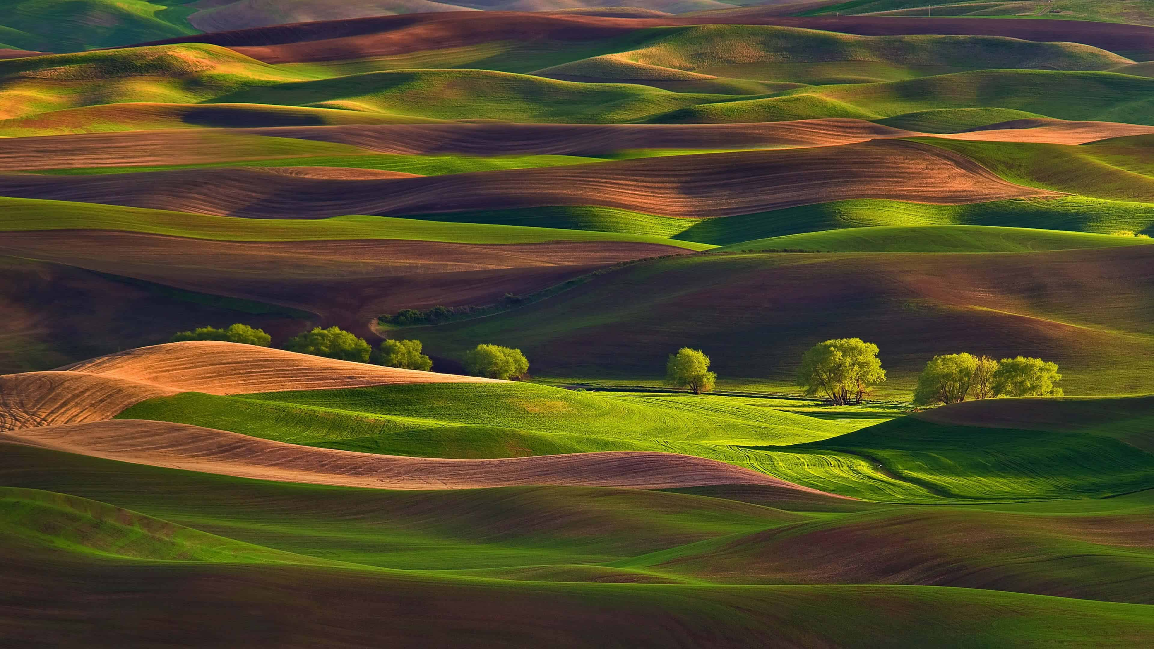 palouse hills washington uhd 4k wallpaper