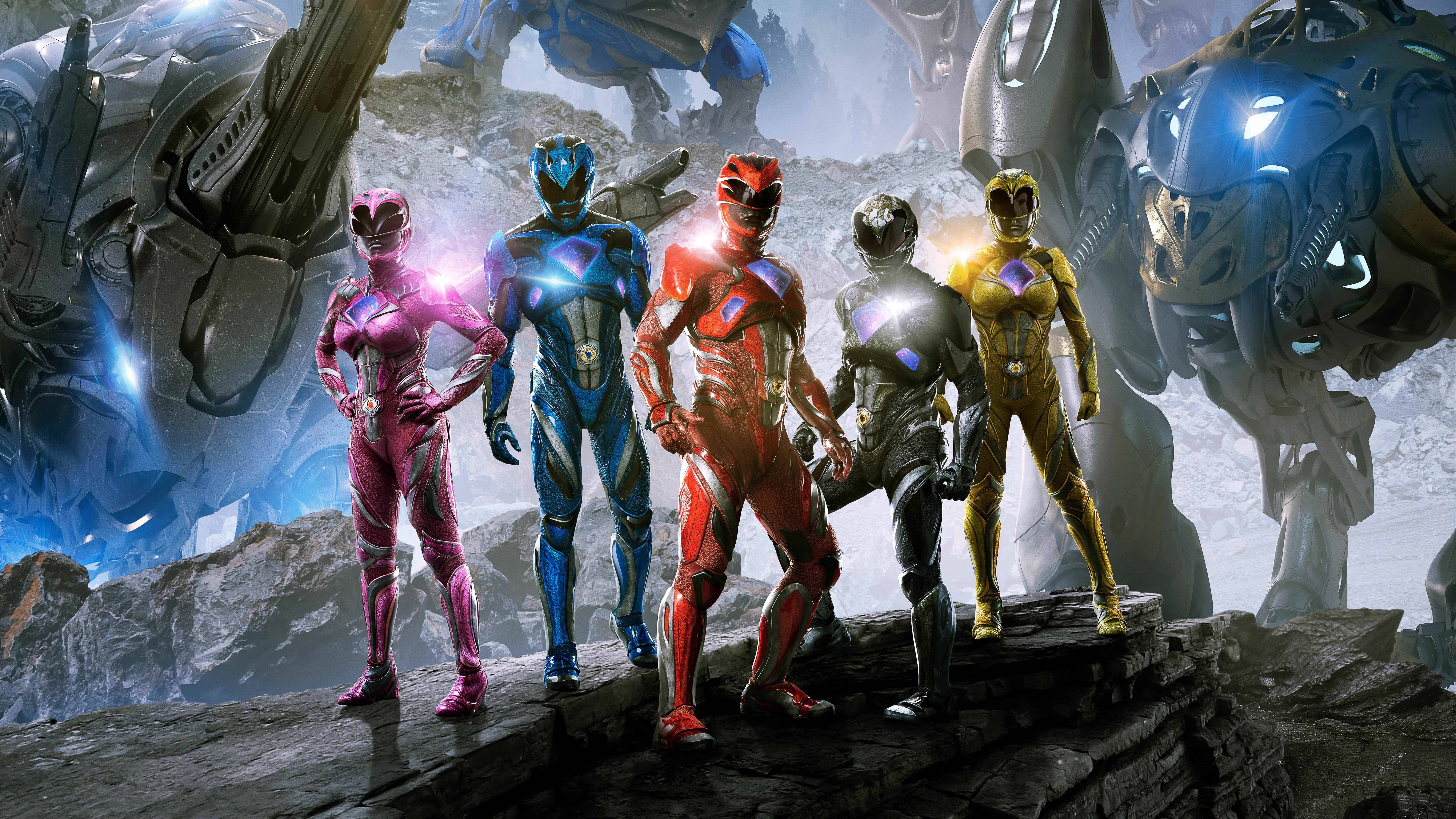 Power Rangers Movie Uhd 8k Wallpaper