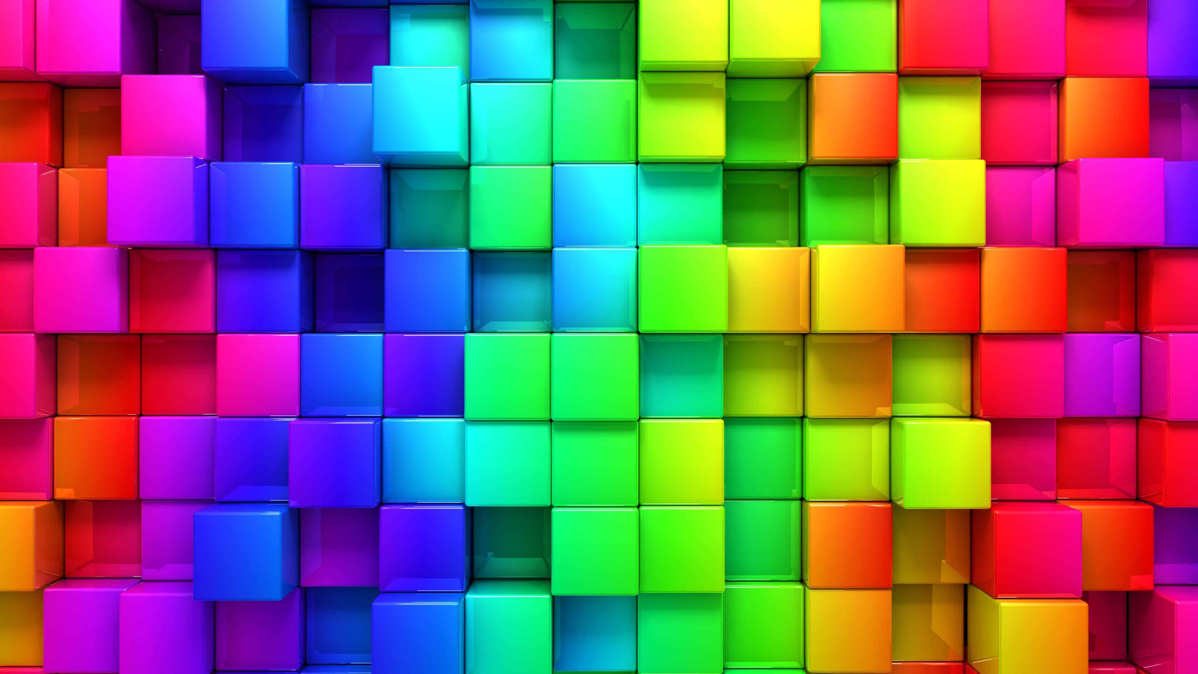 rainbow color palette background uhd 4k wallpaper - Rainbow Color