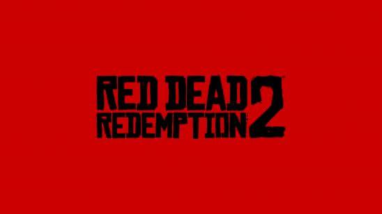 red dead redemption logo uhd 8k wallpaper