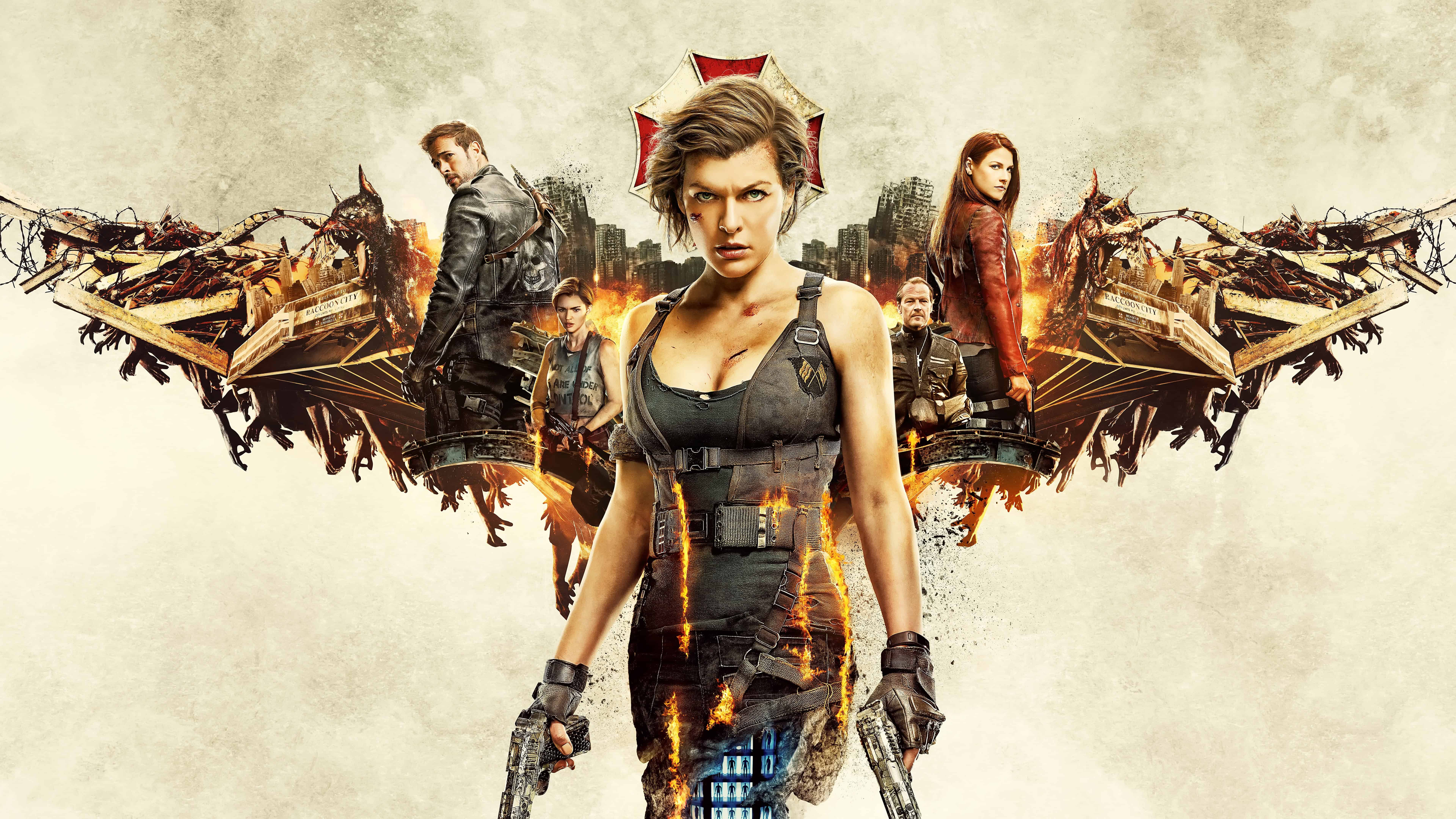 Resident evil the final chapter uhd 8k wallpaper pixelz - Resident evil final chapter 4k ...