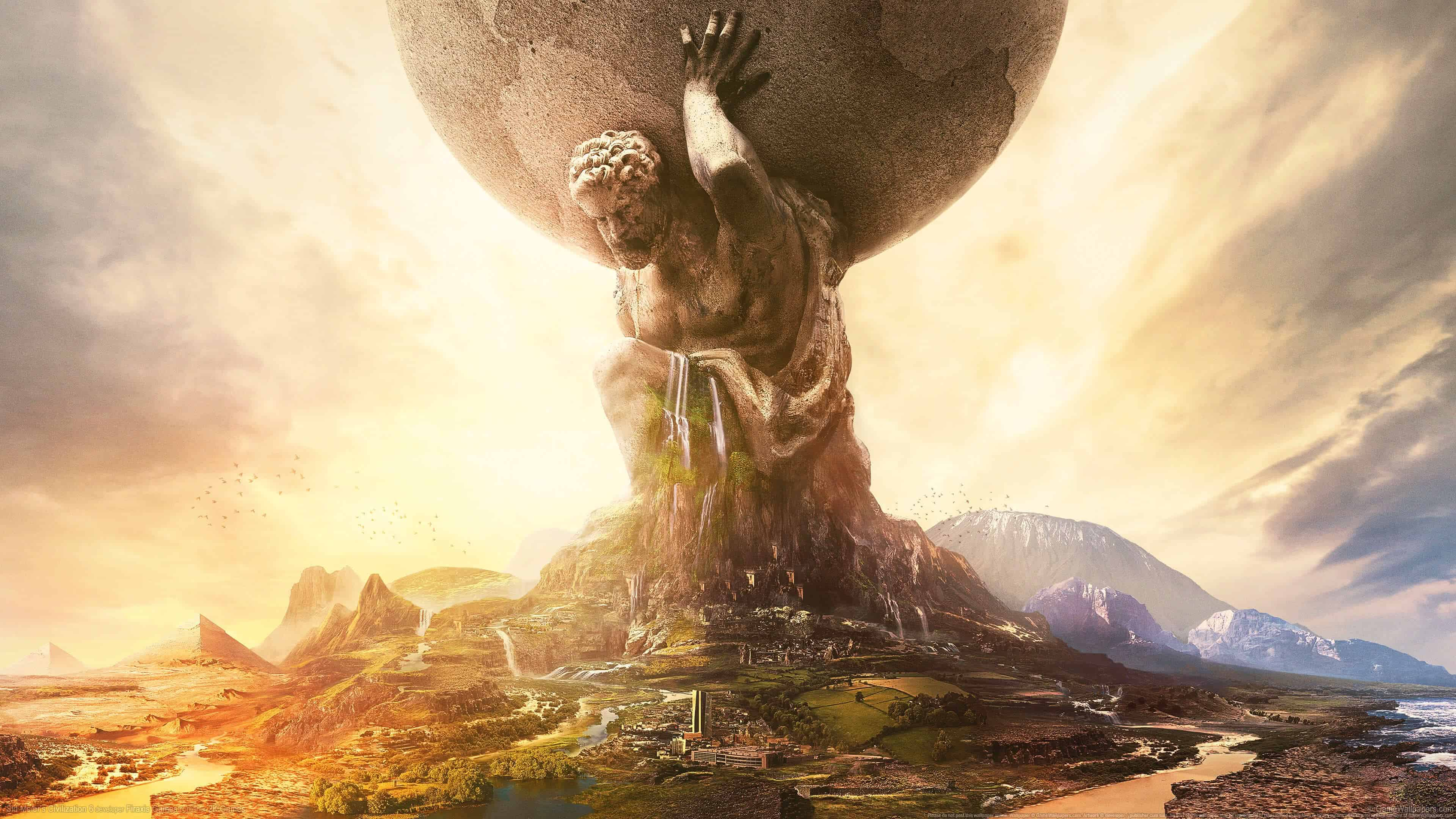sid meiers civilization 6 uhd 4k wallpaper