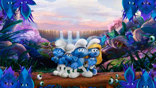 smurfs the lost village uhd 8k wallpaper