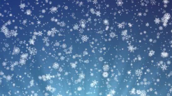 snowflakes on a blue background uhd 4k wallpaper