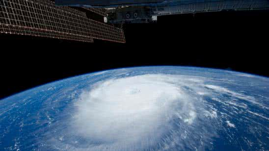 storm on earth from space uhd 4k wallpaper