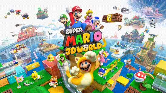 super mario 3d world uhd 8k wallpaper