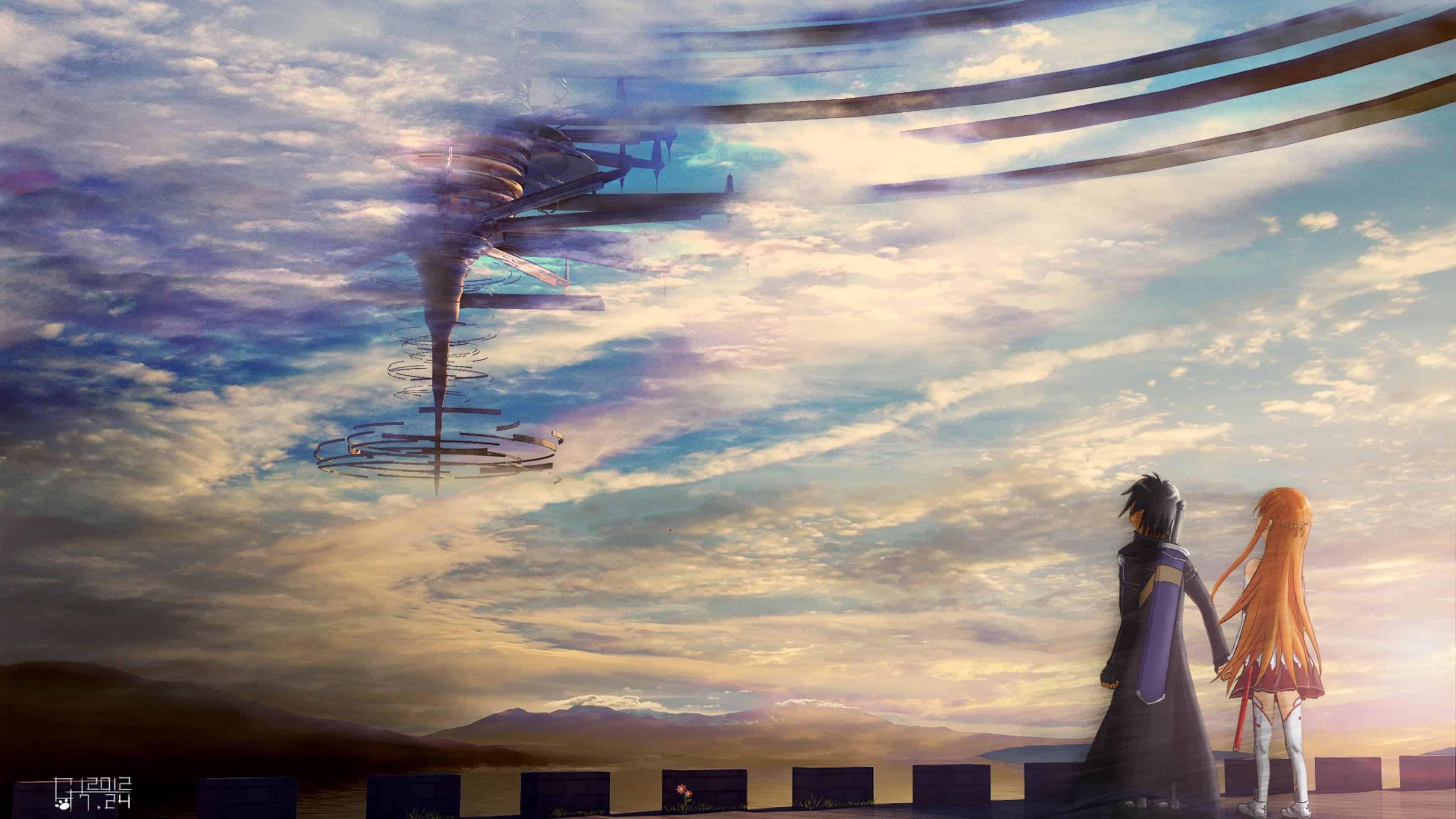 sword art online uhd 4k wallpaper