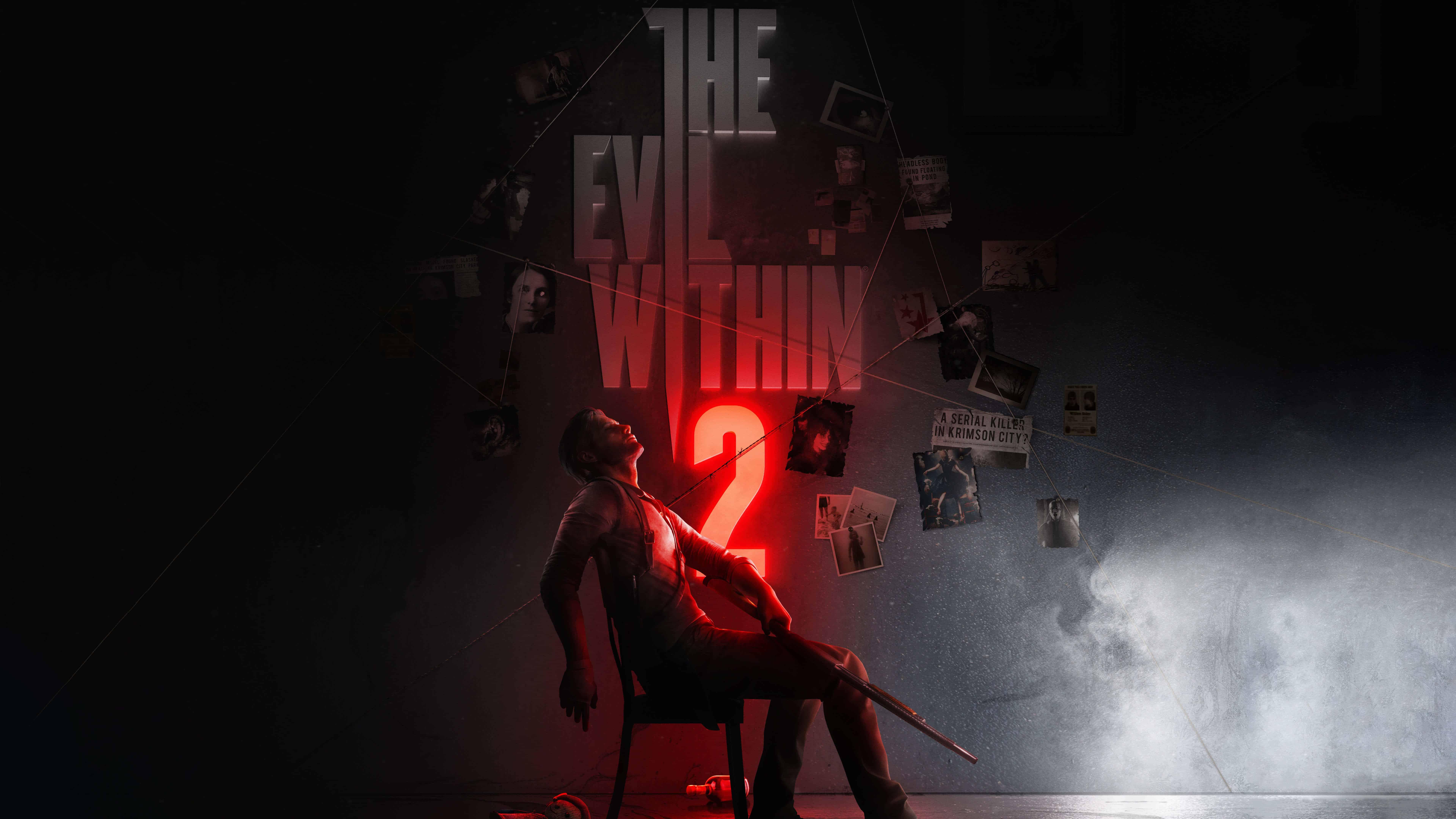 the evil within 2 art uhd 8k wallpaper