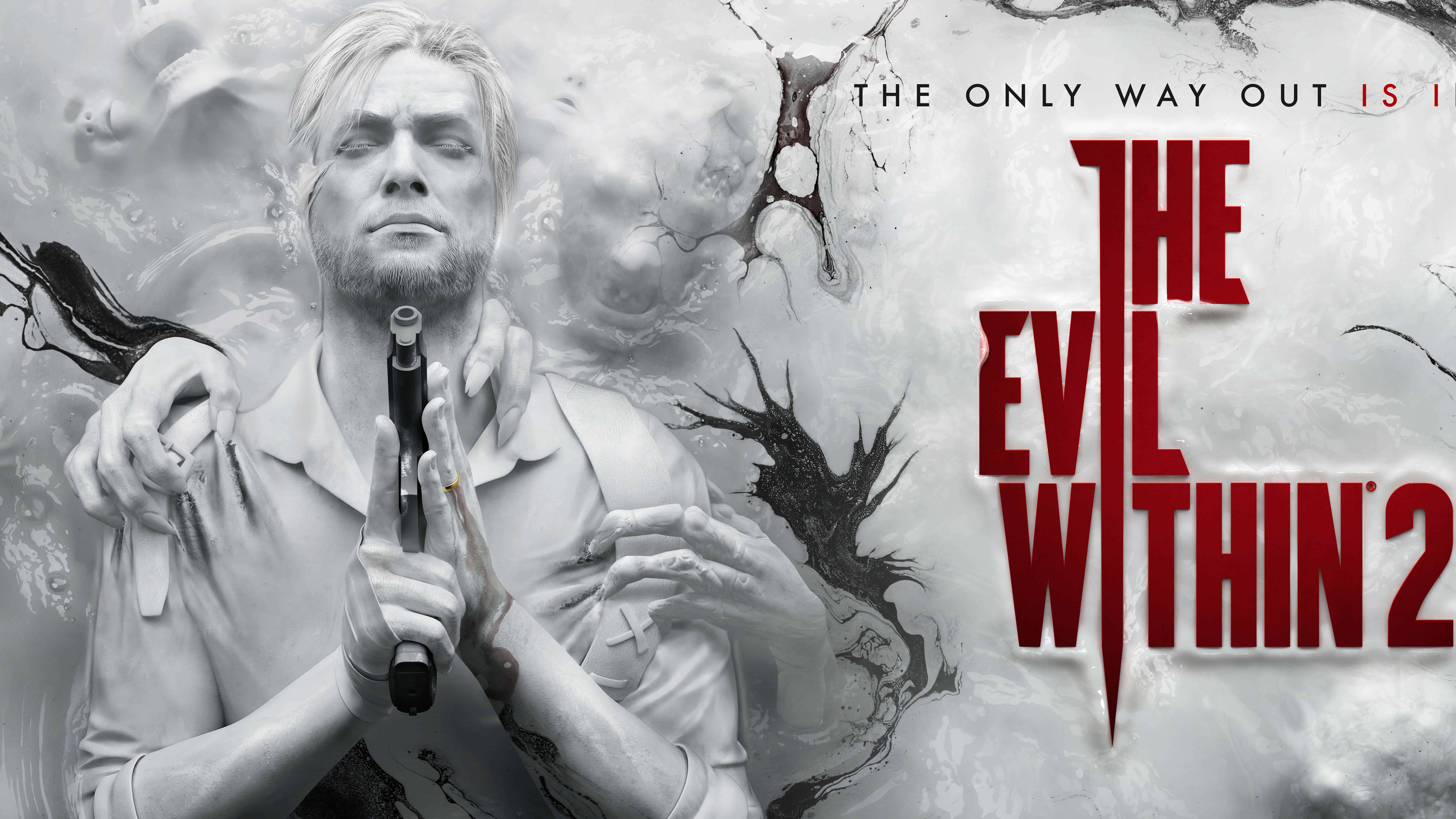 the evil within 2 uhd 8k wallpaper